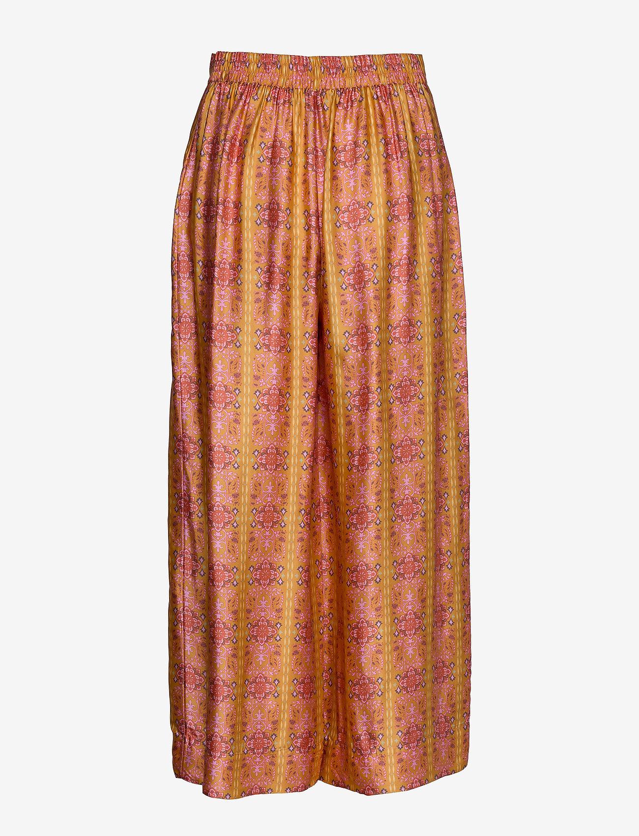 ODD MOLLY - Claudia Pants - bukser med brede ben - tumeric - 1
