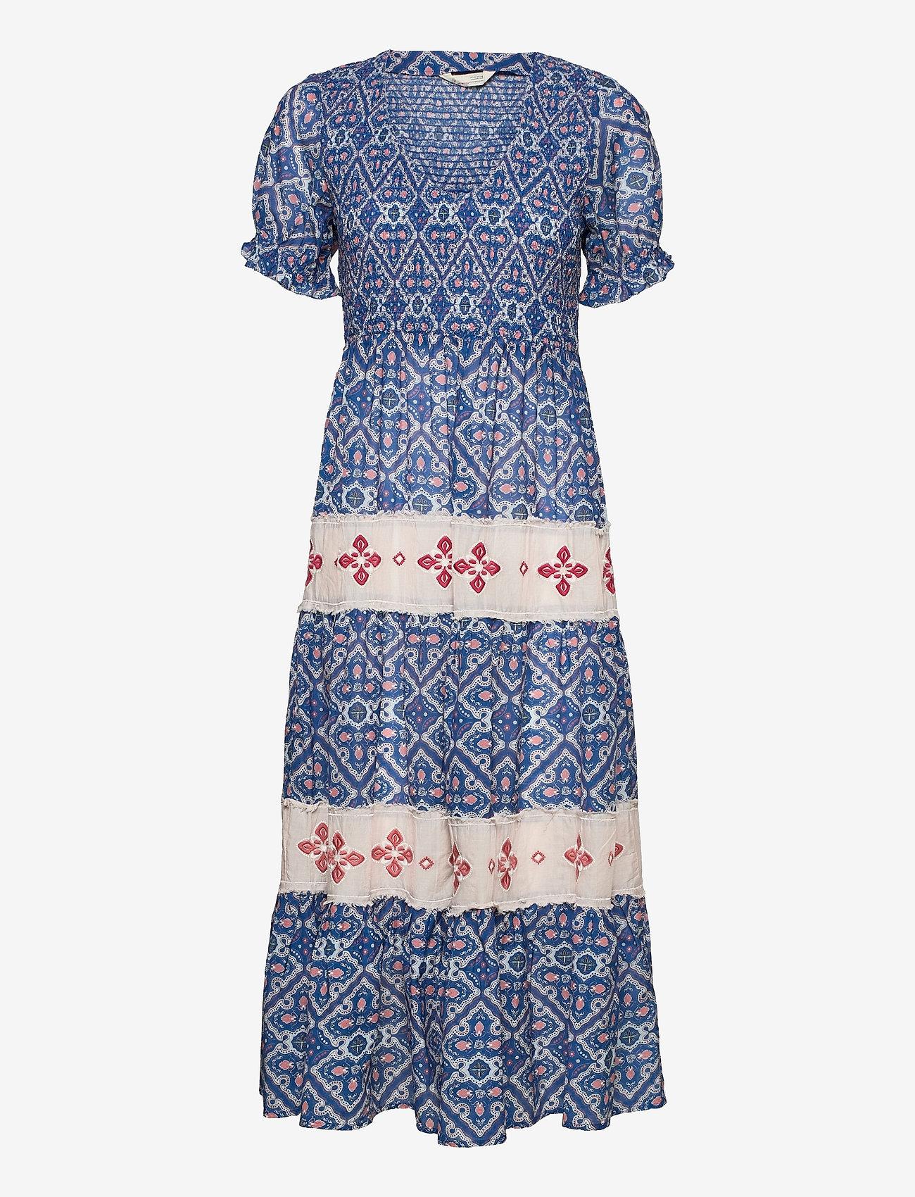 ODD MOLLY - Jovena Dress - sommerkjoler - summer blue - 1