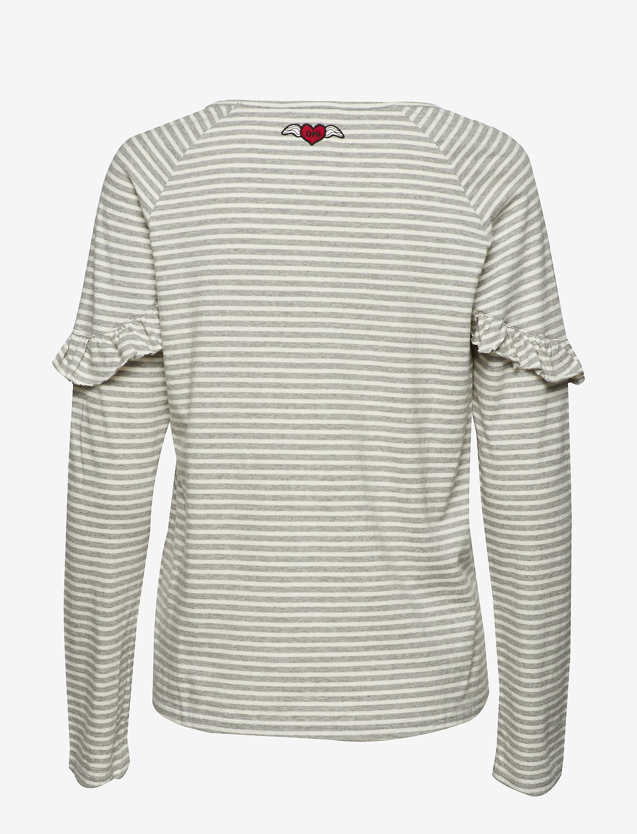 Odd Molly Hey Tiger Top - T-shirts & Toppar Grey Melange