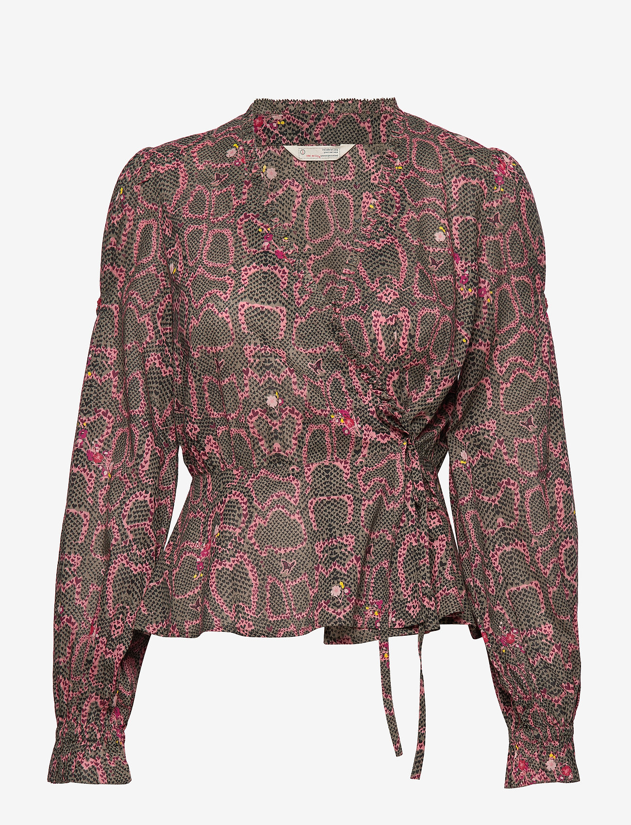 ODD MOLLY - For The Love Of Lust Blouse - blouses à manches longues - almost black - 1