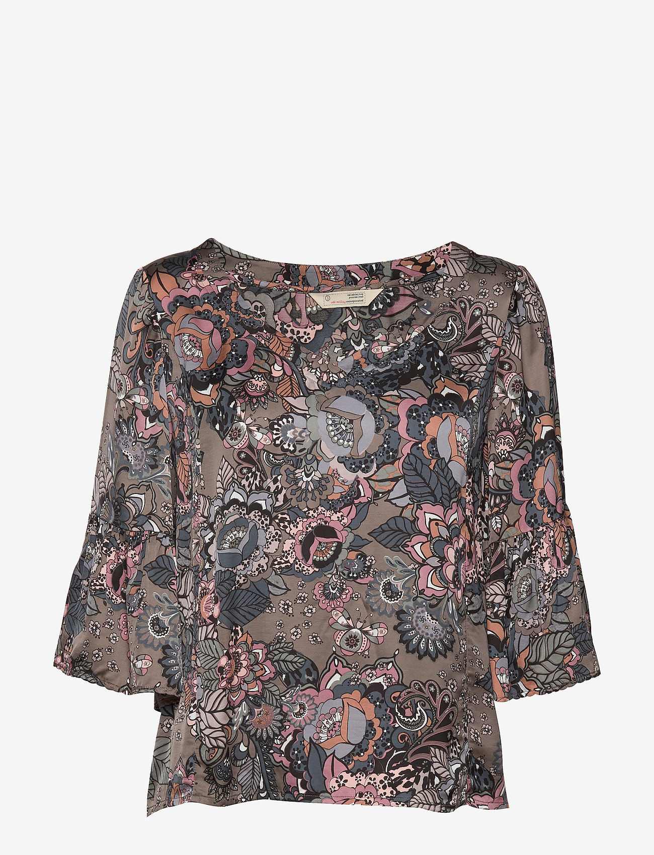 ODD MOLLY - Extravaganca Blouse - blouses à manches longues - walnut brown - 1