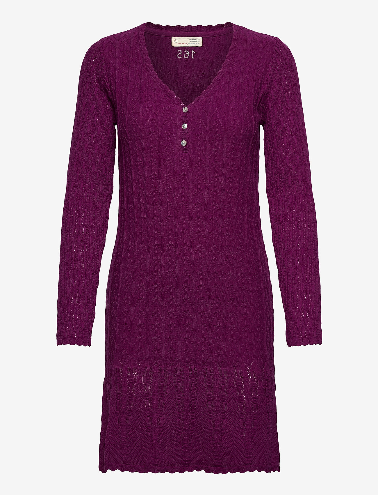 ODD MOLLY - Maureen Dress - hverdagskjoler - blackberry bliss - 1