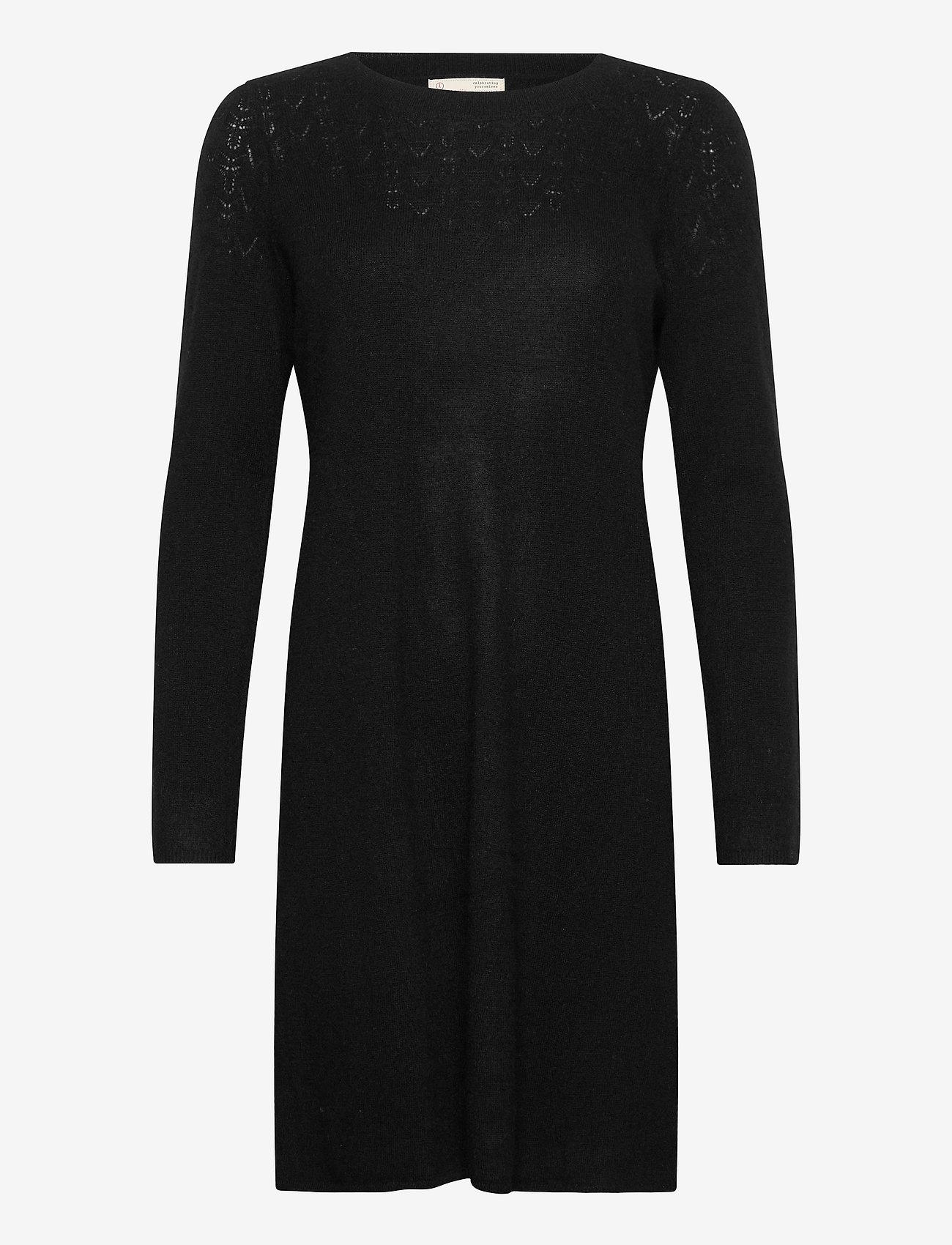 ODD MOLLY - Quinn Dress - hverdagskjoler - black - 1