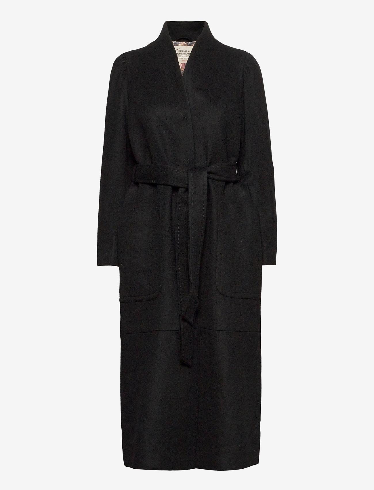 ODD MOLLY - Luna Coat - manteaux en laine - almost black - 1