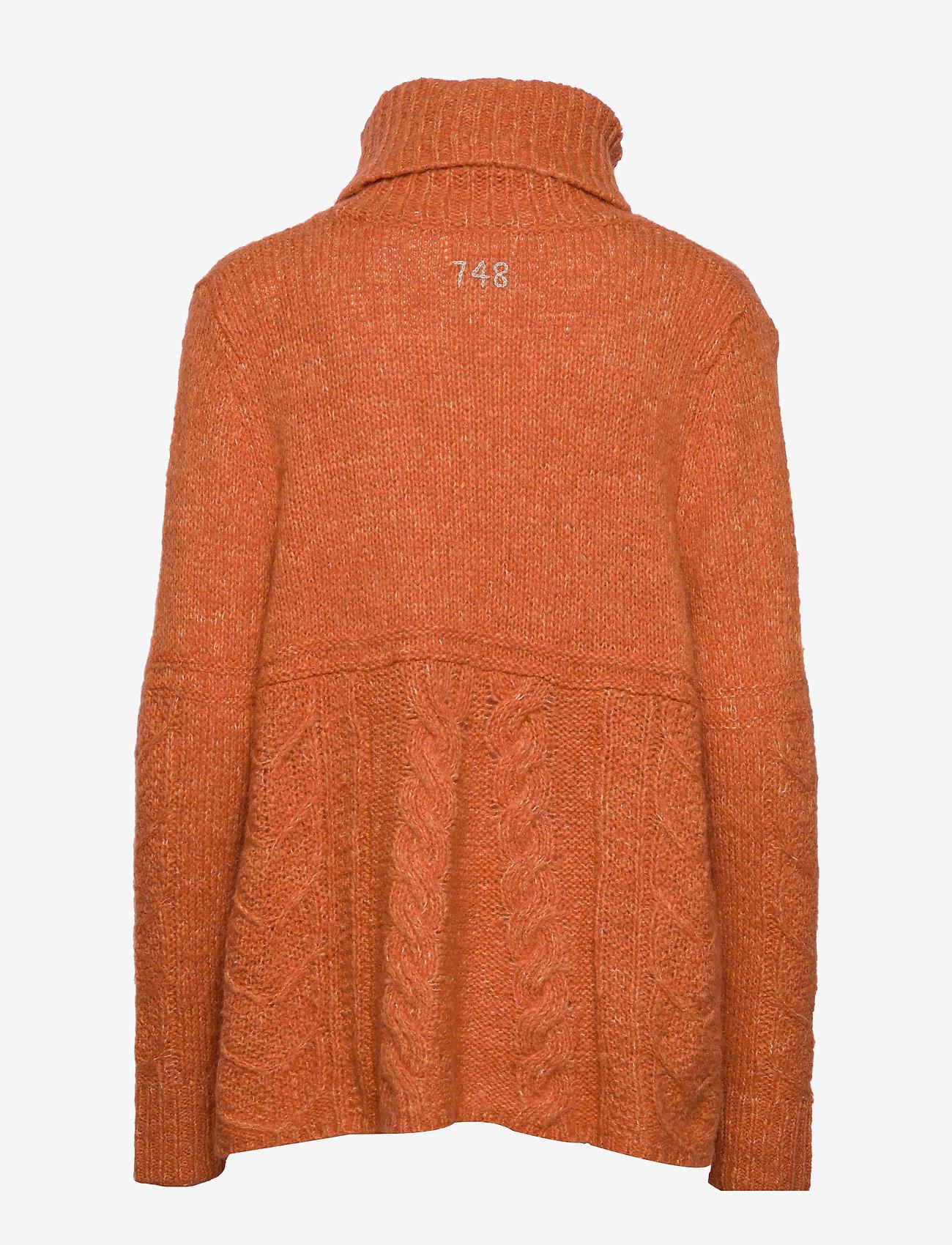 ODD MOLLY - Cozy Hugs Turtleneck - pulls à col roulé - deep orange - 1