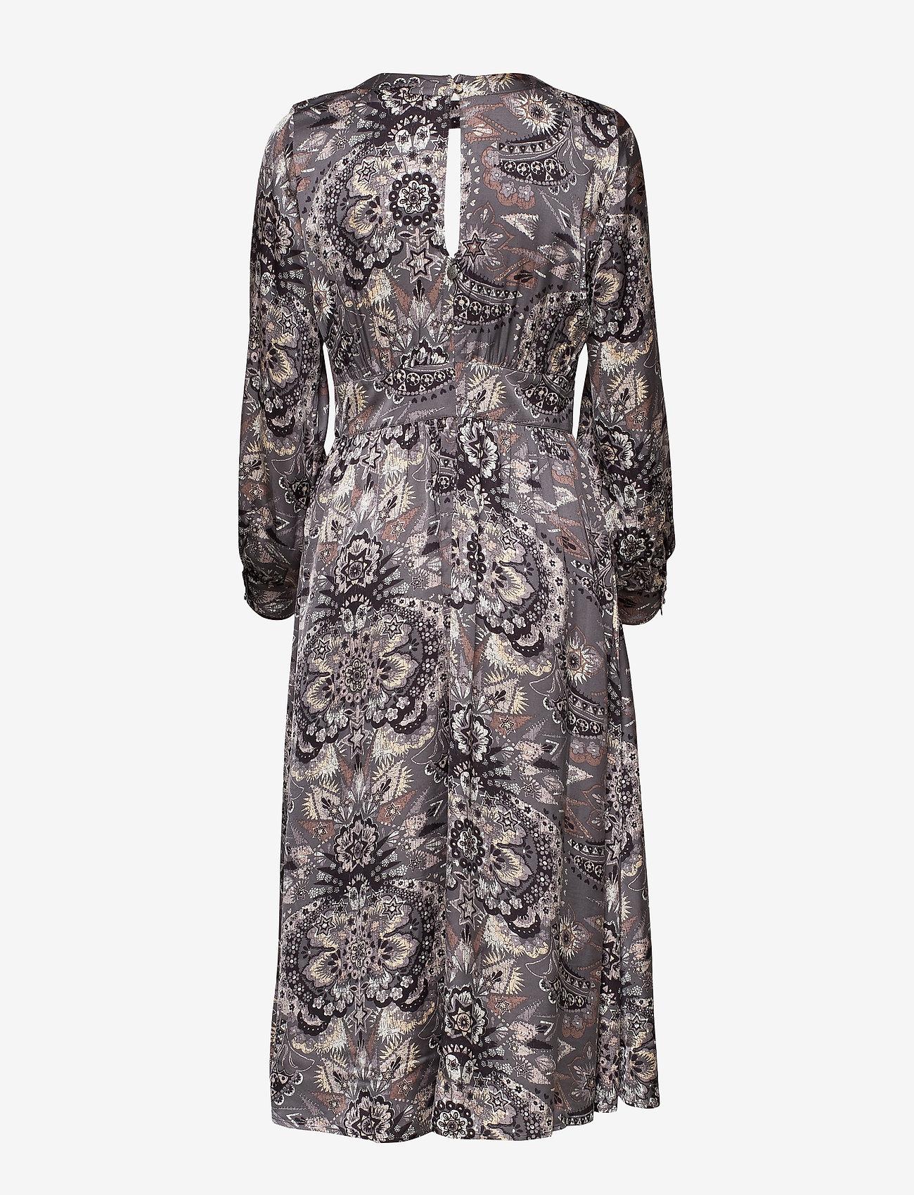 ODD MOLLY - Head Turner Long Dress - robes midi - asphalt - 1