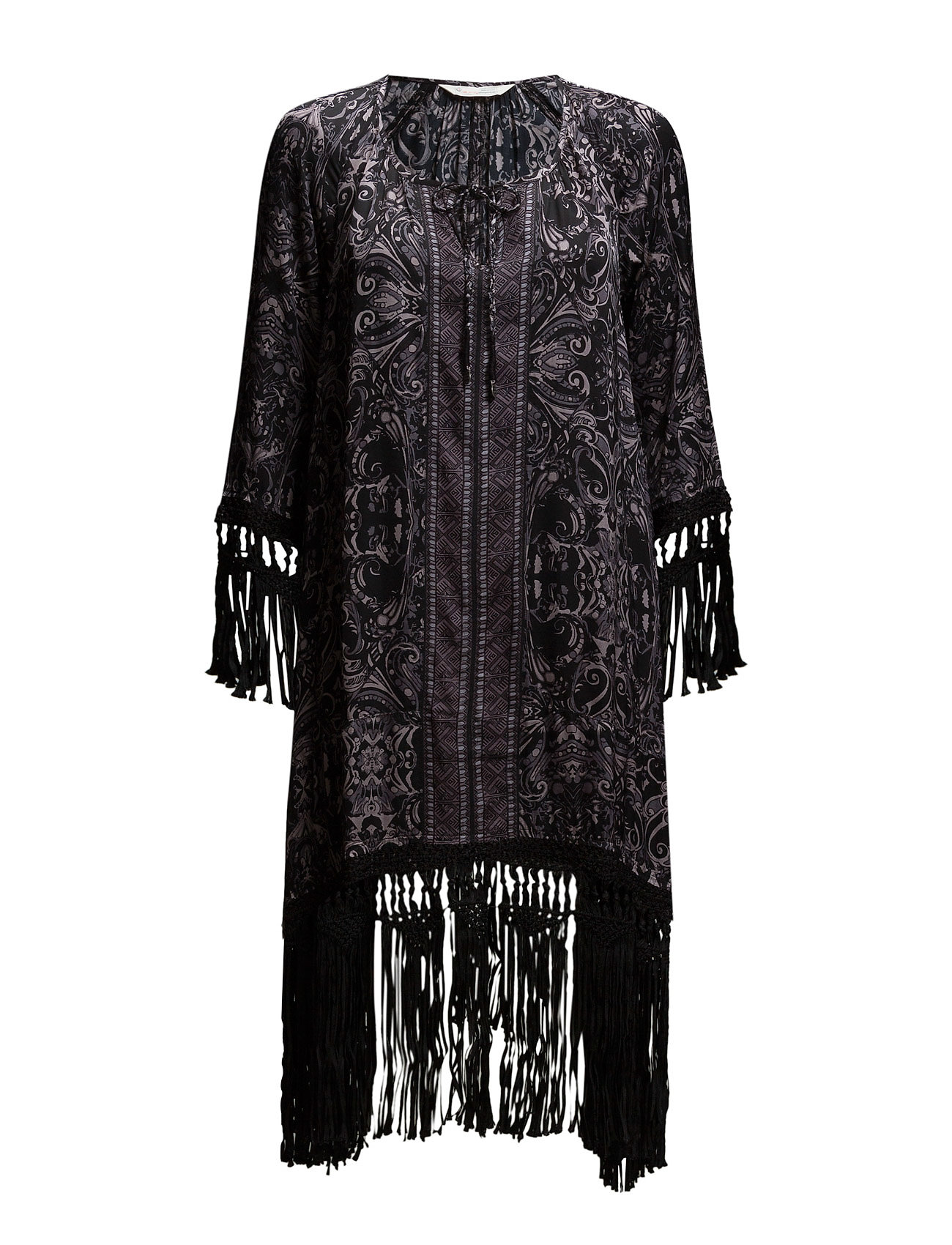 ODD MOLLY pasadena tunic - ALMOST BLACK