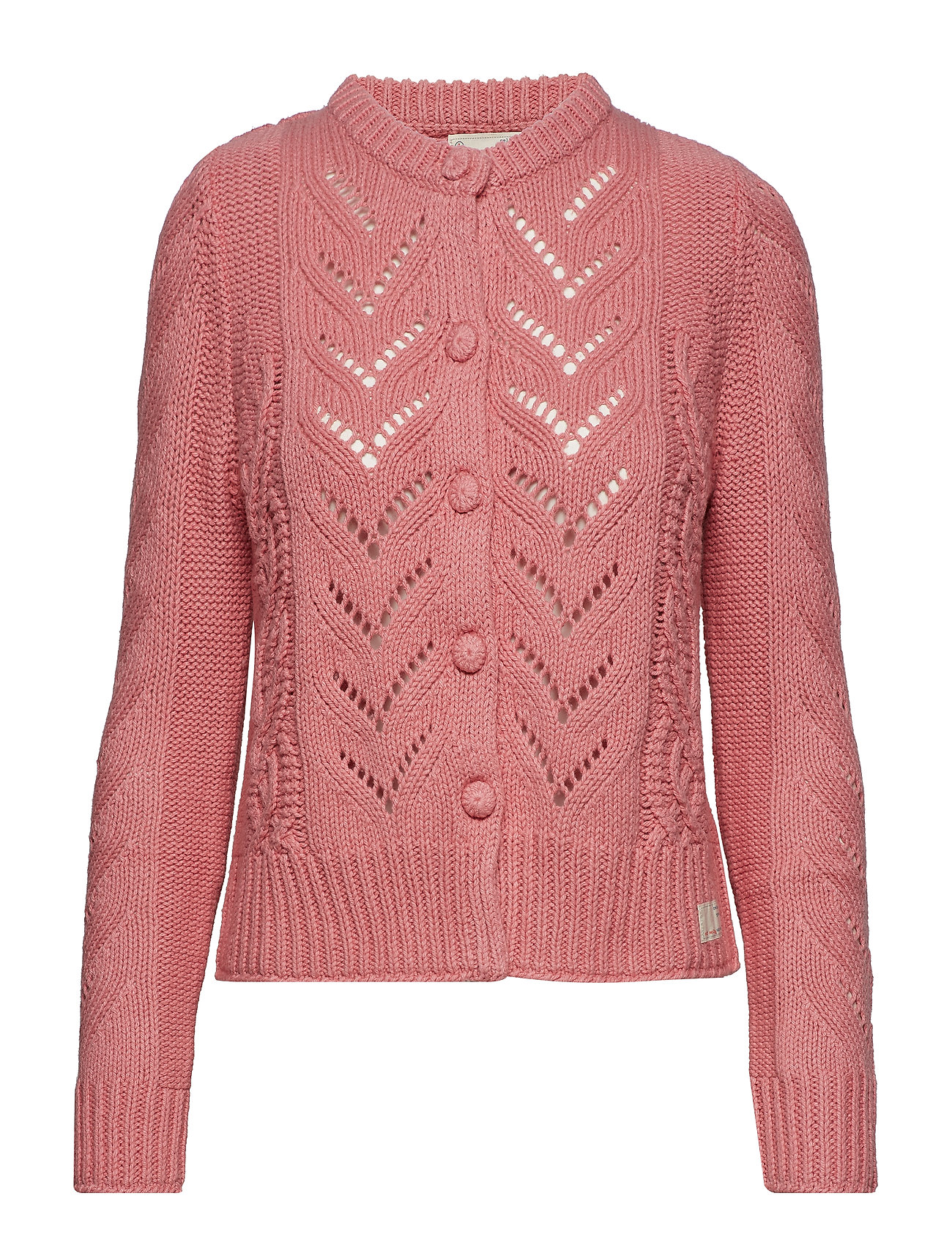 ODD MOLLY pathways cardigan - DUSTED PINK