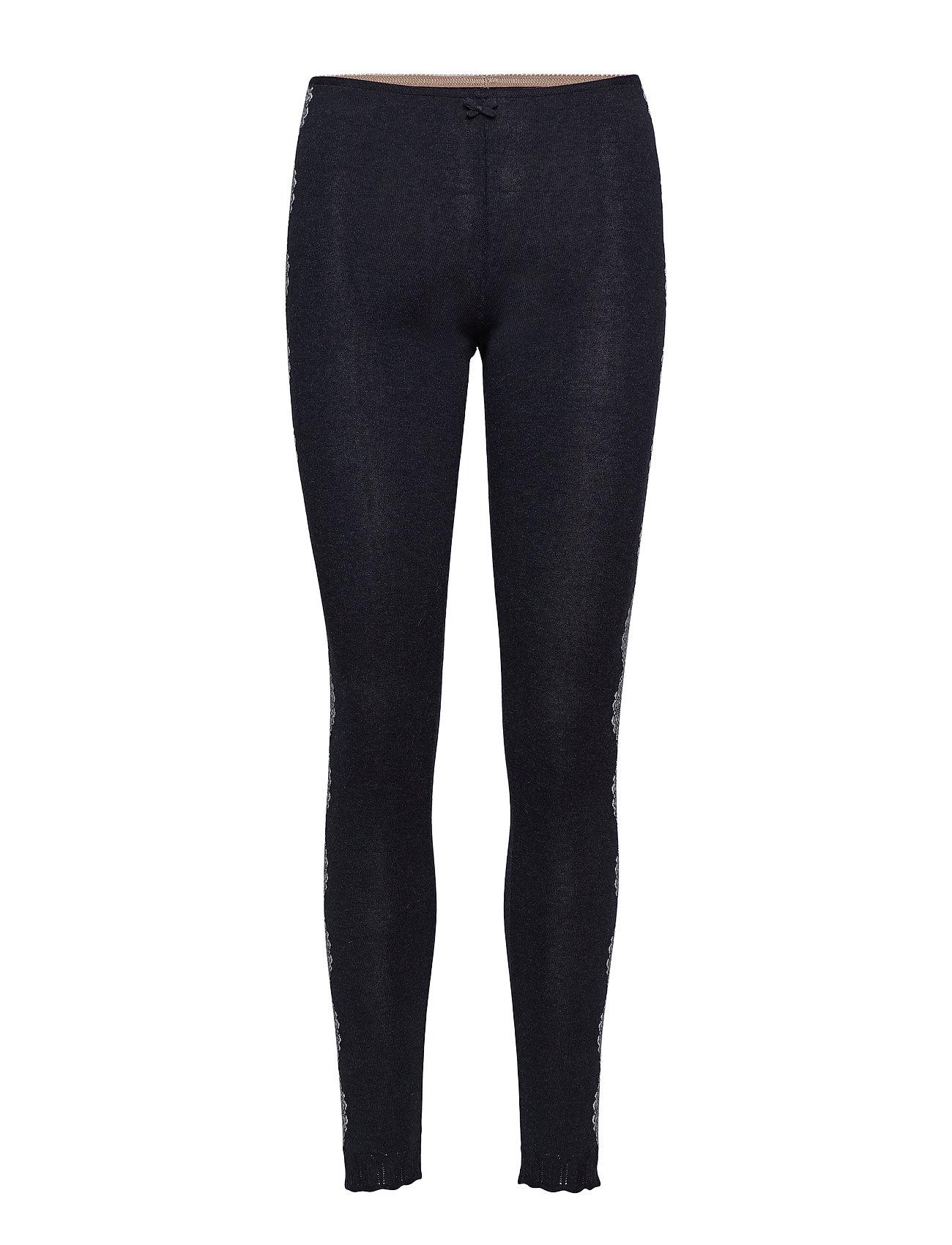 ODD MOLLY side romance leggings - BLACK
