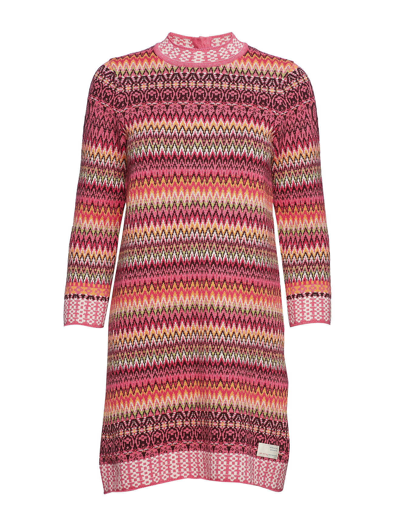 ODD MOLLY vivid vibration dress - MULTI
