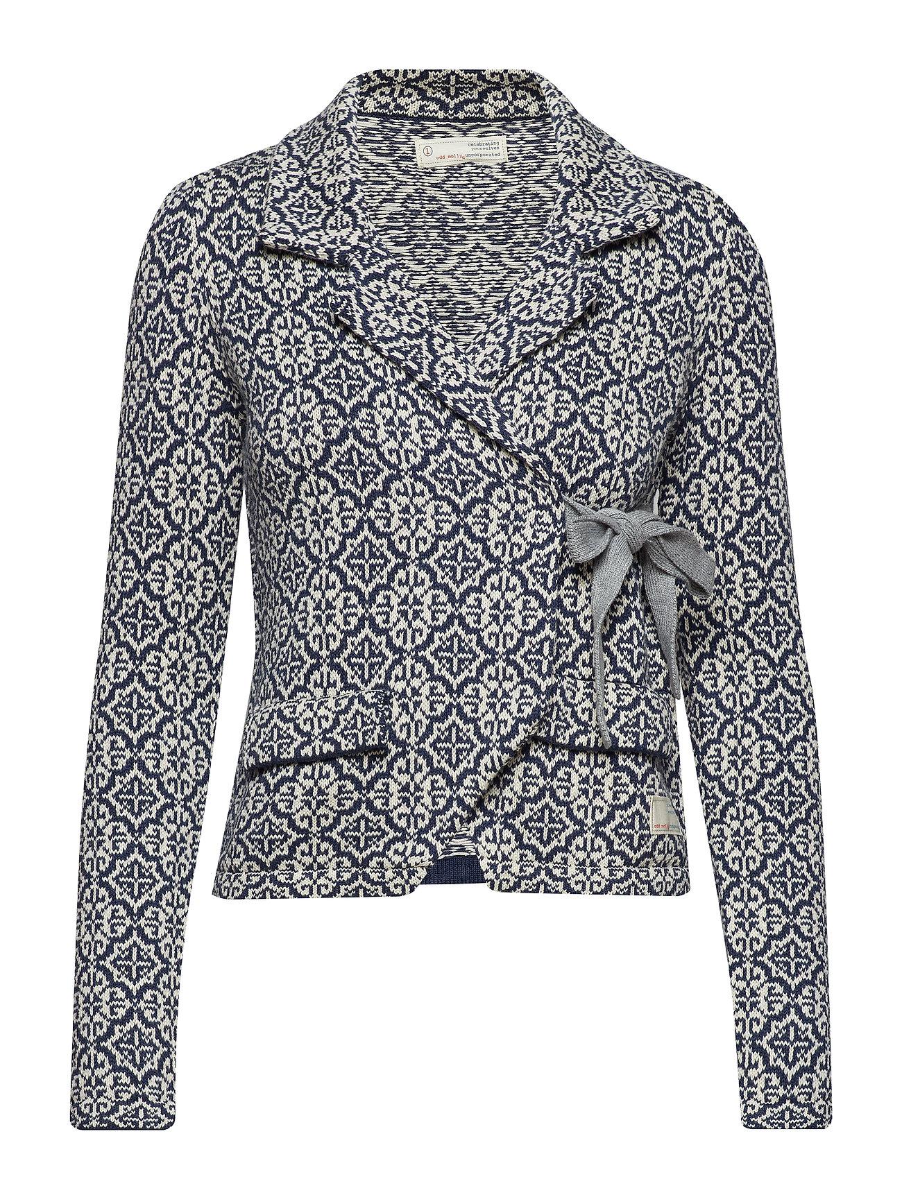 Knit Knit Molly Lovely BlueOdd Lovely Jacketdark zUpGqSMV