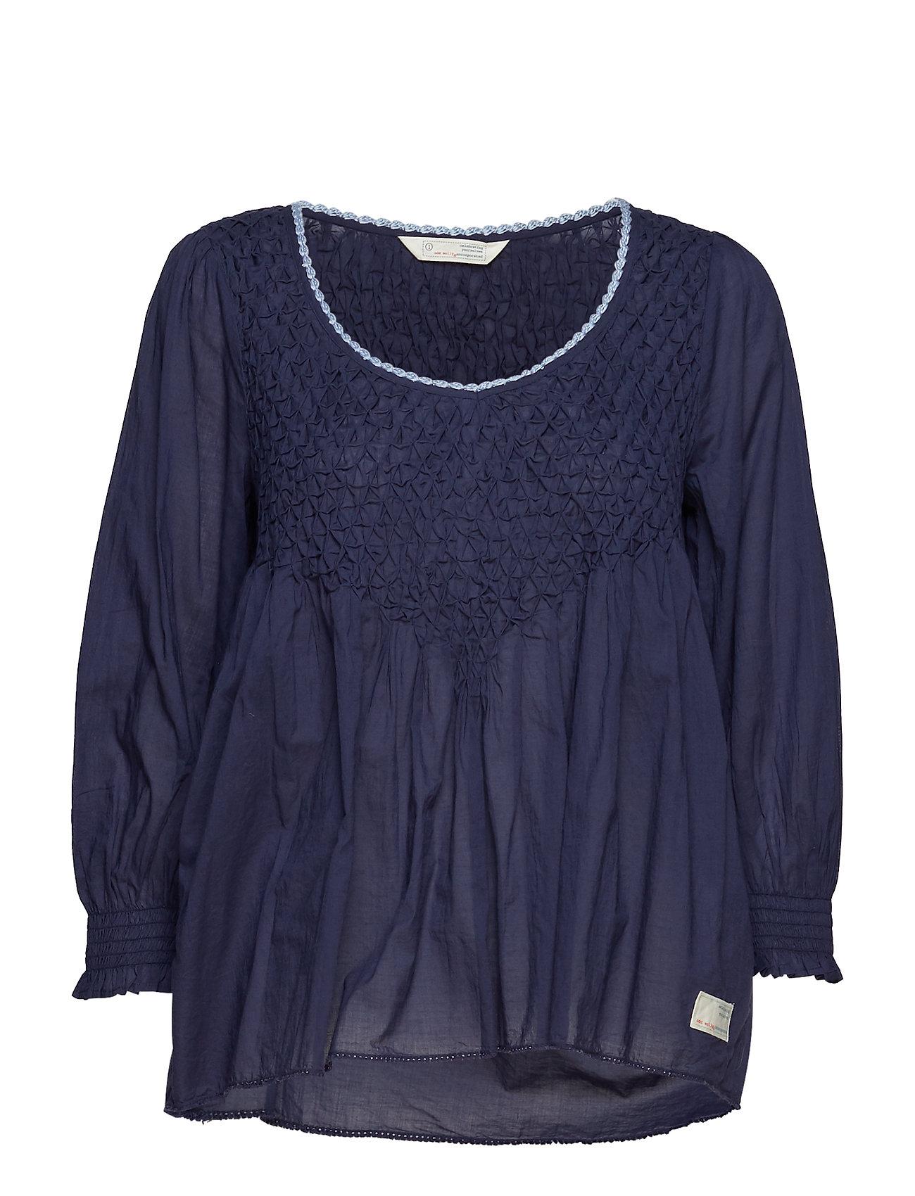ODD MOLLY sway blouse - DARK BLUE