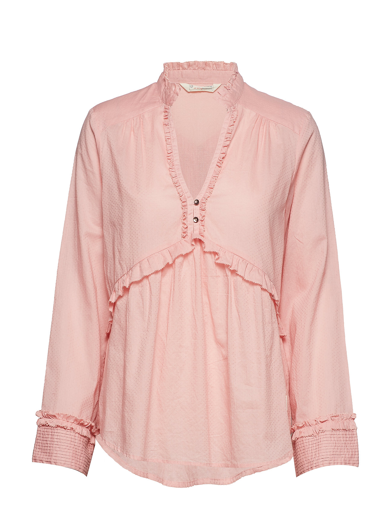 ODD MOLLY full frill blouse - BLOSSOM