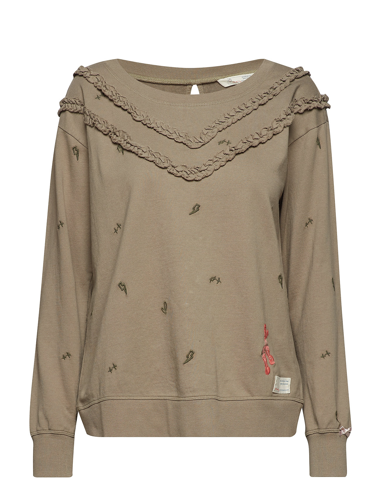 ODD MOLLY phase it sweater - FADED CARGO
