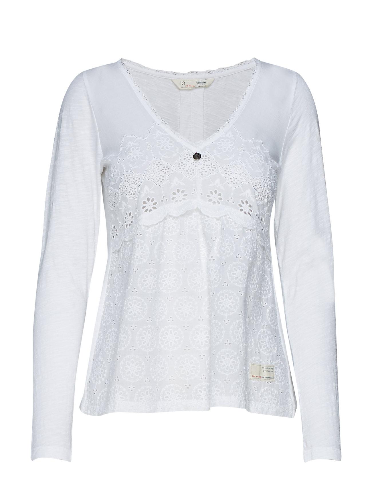 2d0d1ca2 Circular Blouse (Bright White) (556.50 kr) - ODD MOLLY - | Boozt.com