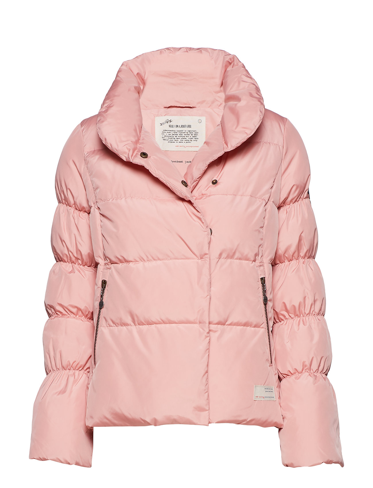 ODD MOLLY downbeat jacket - SHADOW PINK