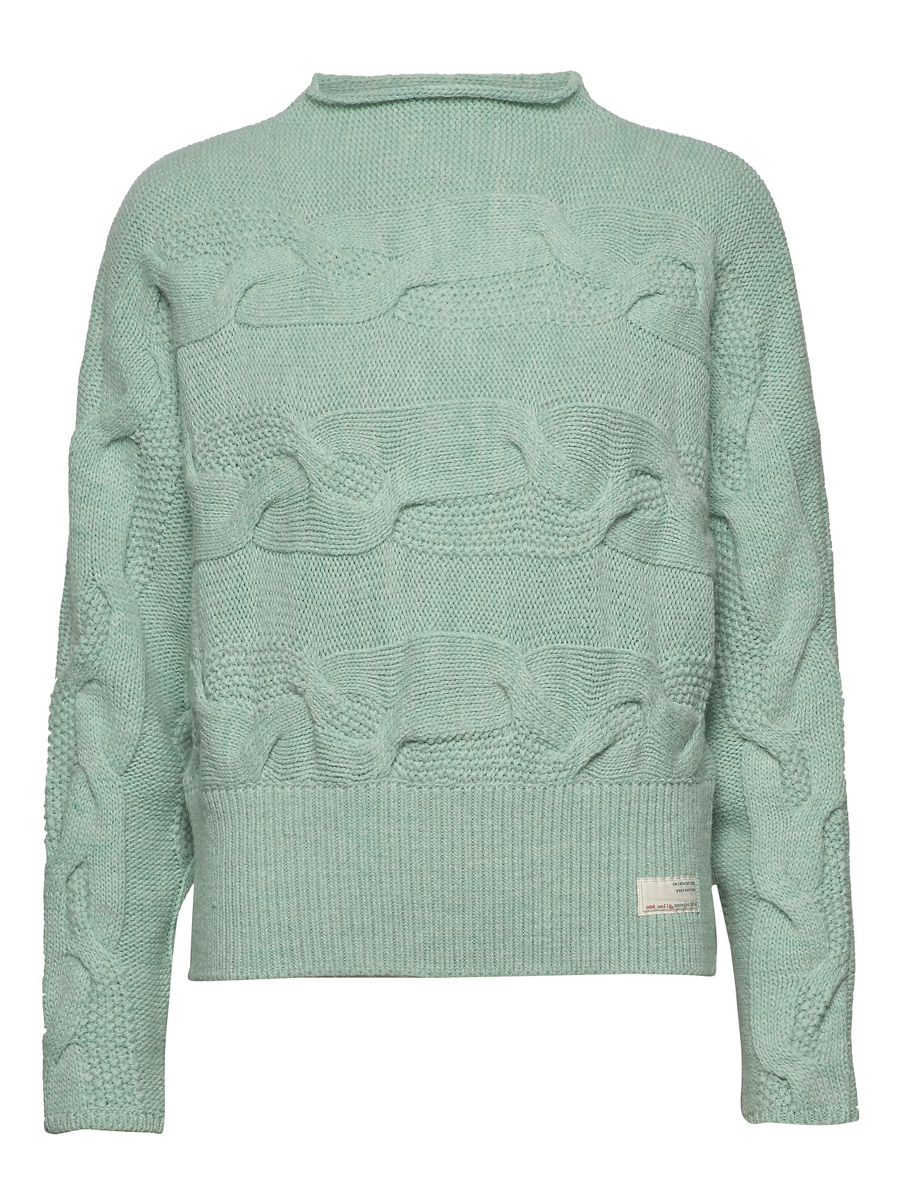ODD MOLLY Spun Dreams Sweater - MISTY MINT