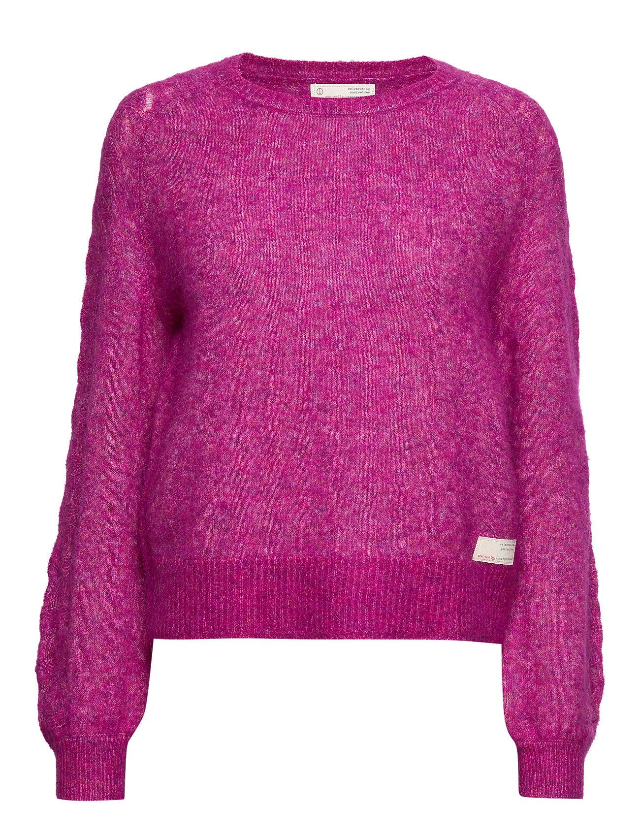 ODD MOLLY Cool With Wool Sweater - FIREWORK FUCHSIA