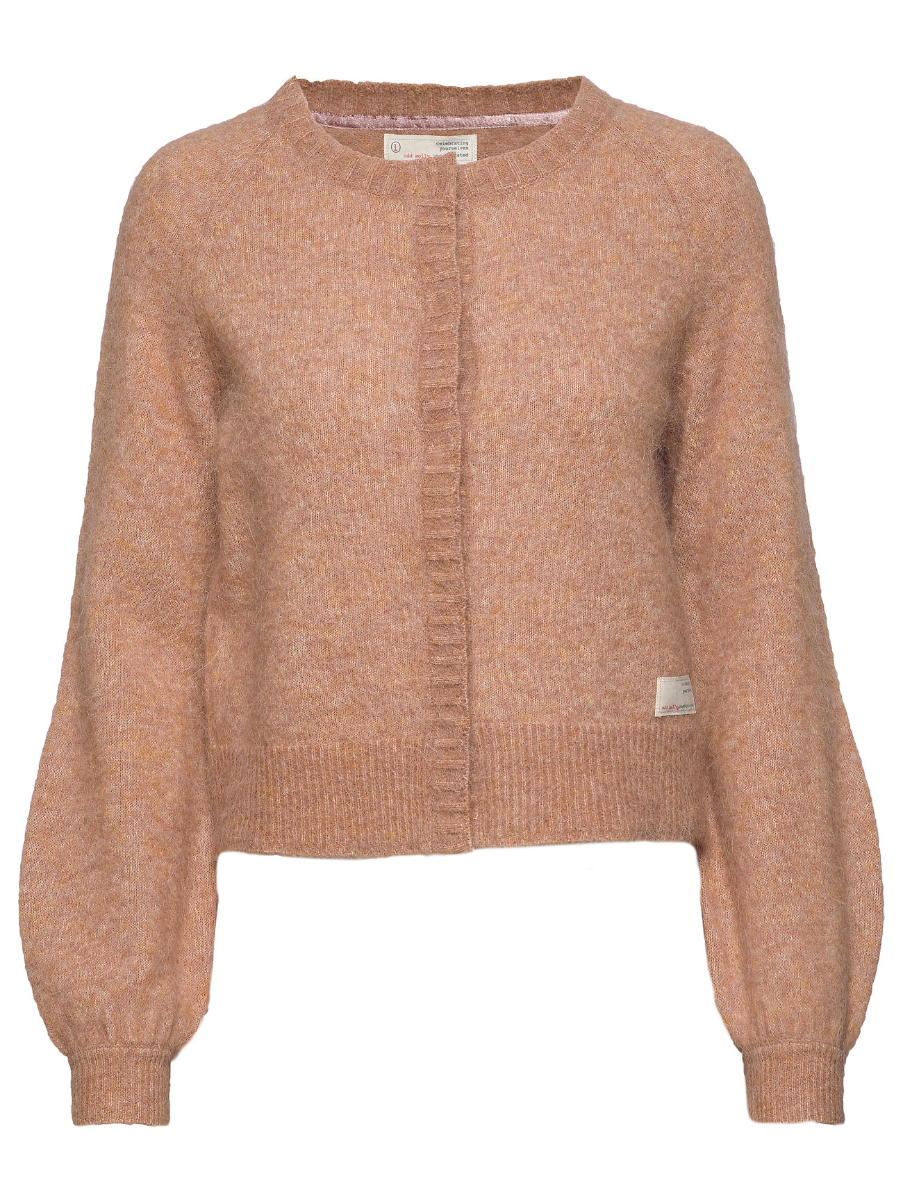 ODD MOLLY Cool With Wool Cardigan - CHOCOLATE CREAM