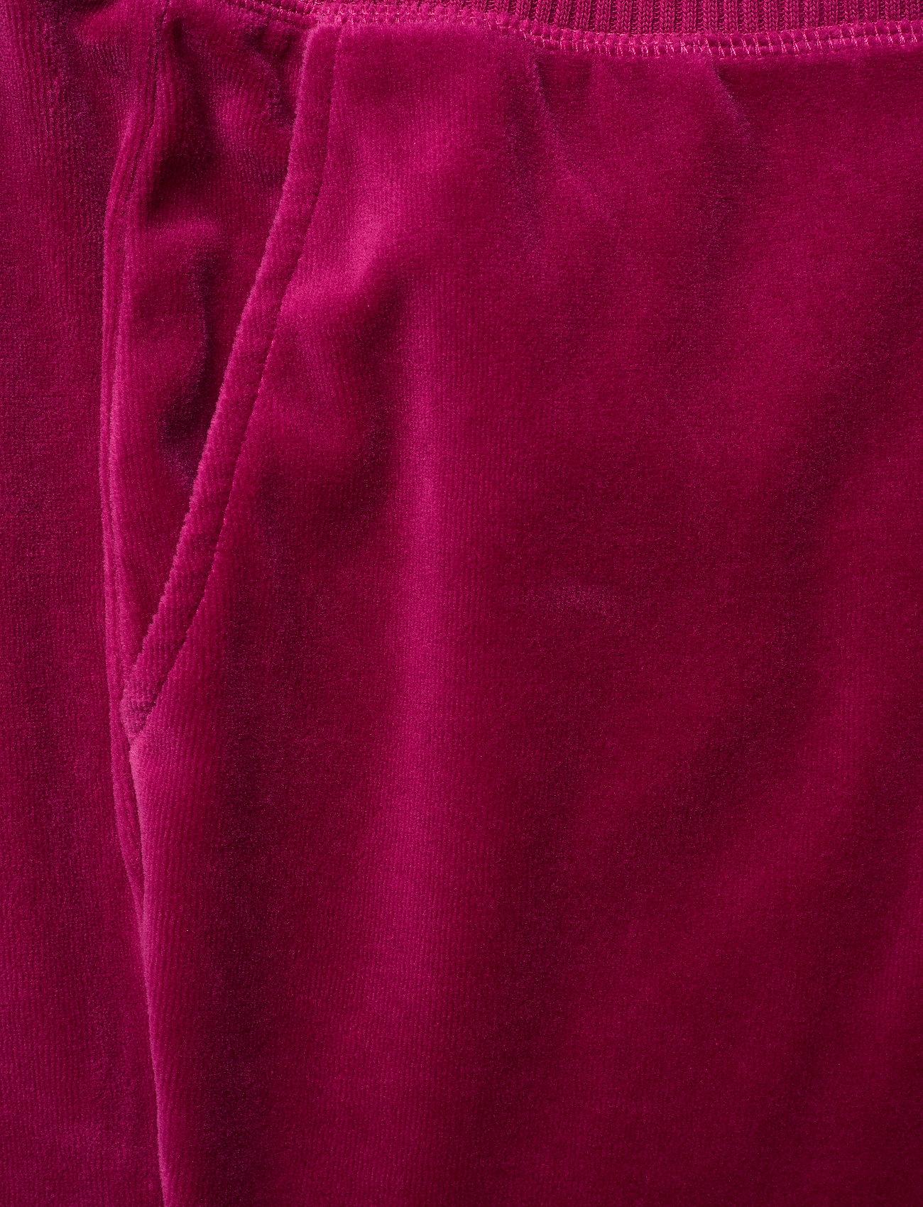 ODD MOLLY Velouragenius Pant - Spodnie FIREWORK FUCHSIA - Kobiety Odzież.