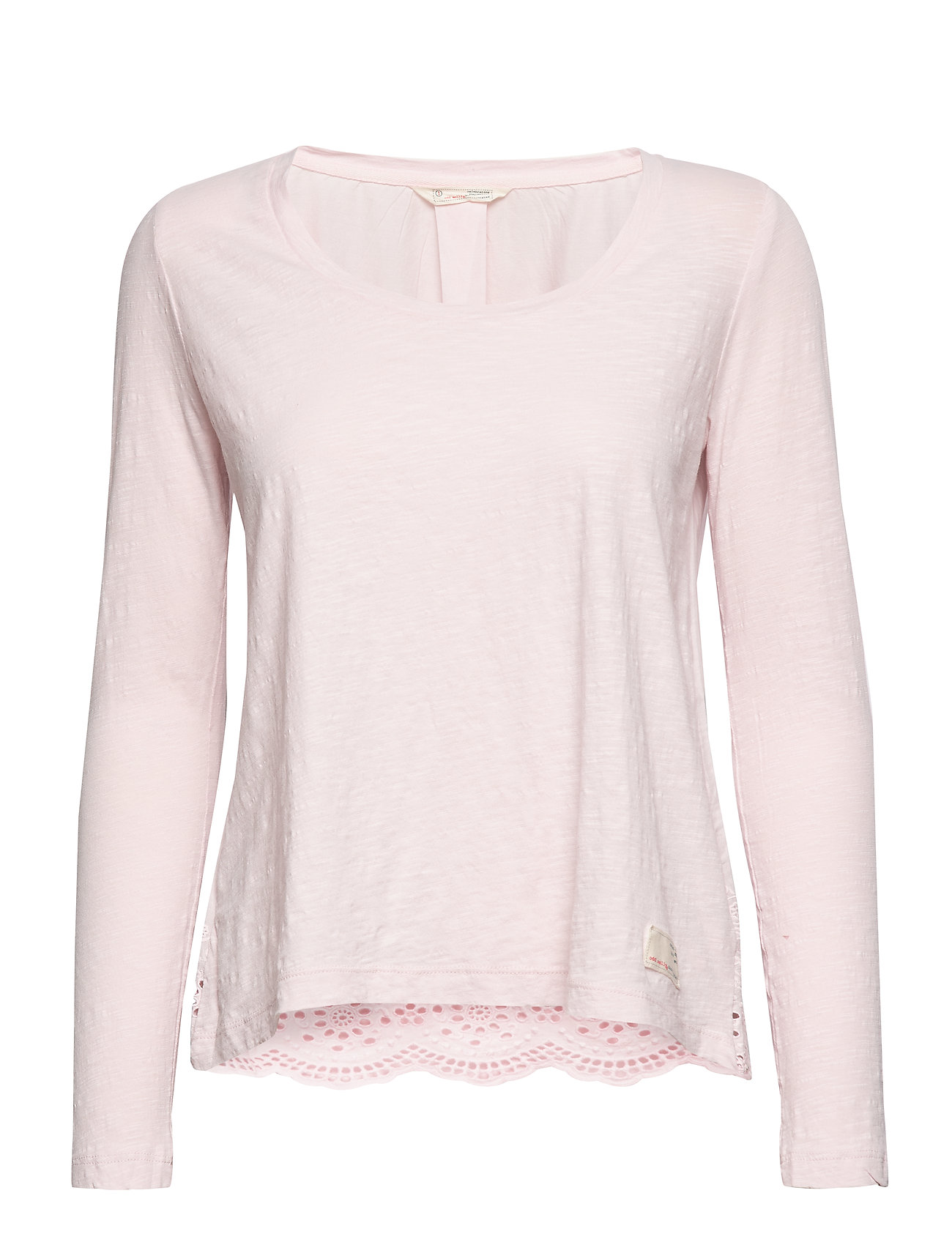 ODD MOLLY Woven To Life Top - ROSE
