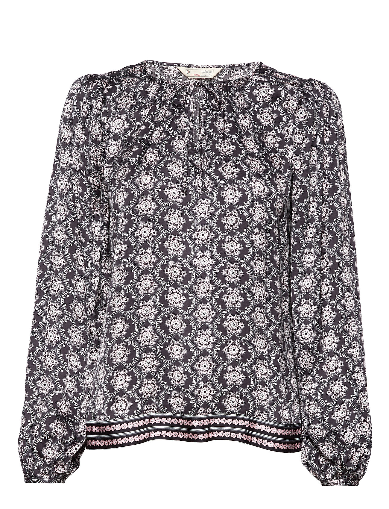ODD MOLLY Insanely Right Blouse - ALMOST BLACK