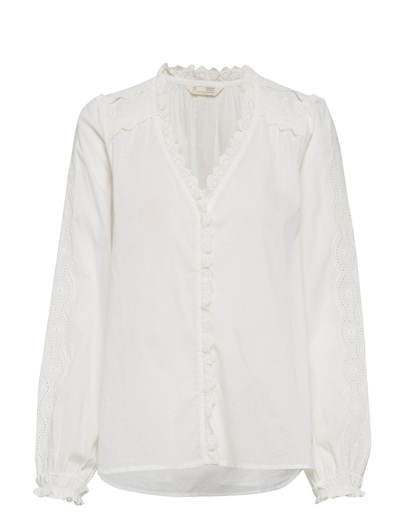Image of Sleeves Up Blouse Bluse Langærmet Hvid ODD MOLLY (3292169129)