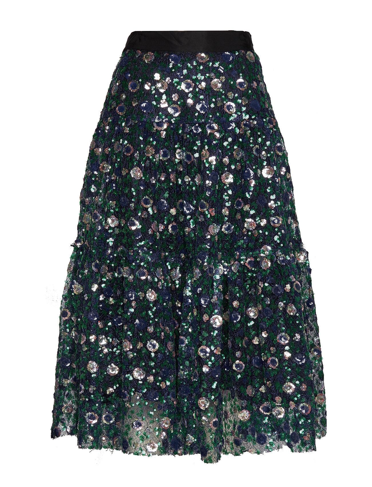 ODD MOLLY Sequins & Sunshine Skirt - MULTI