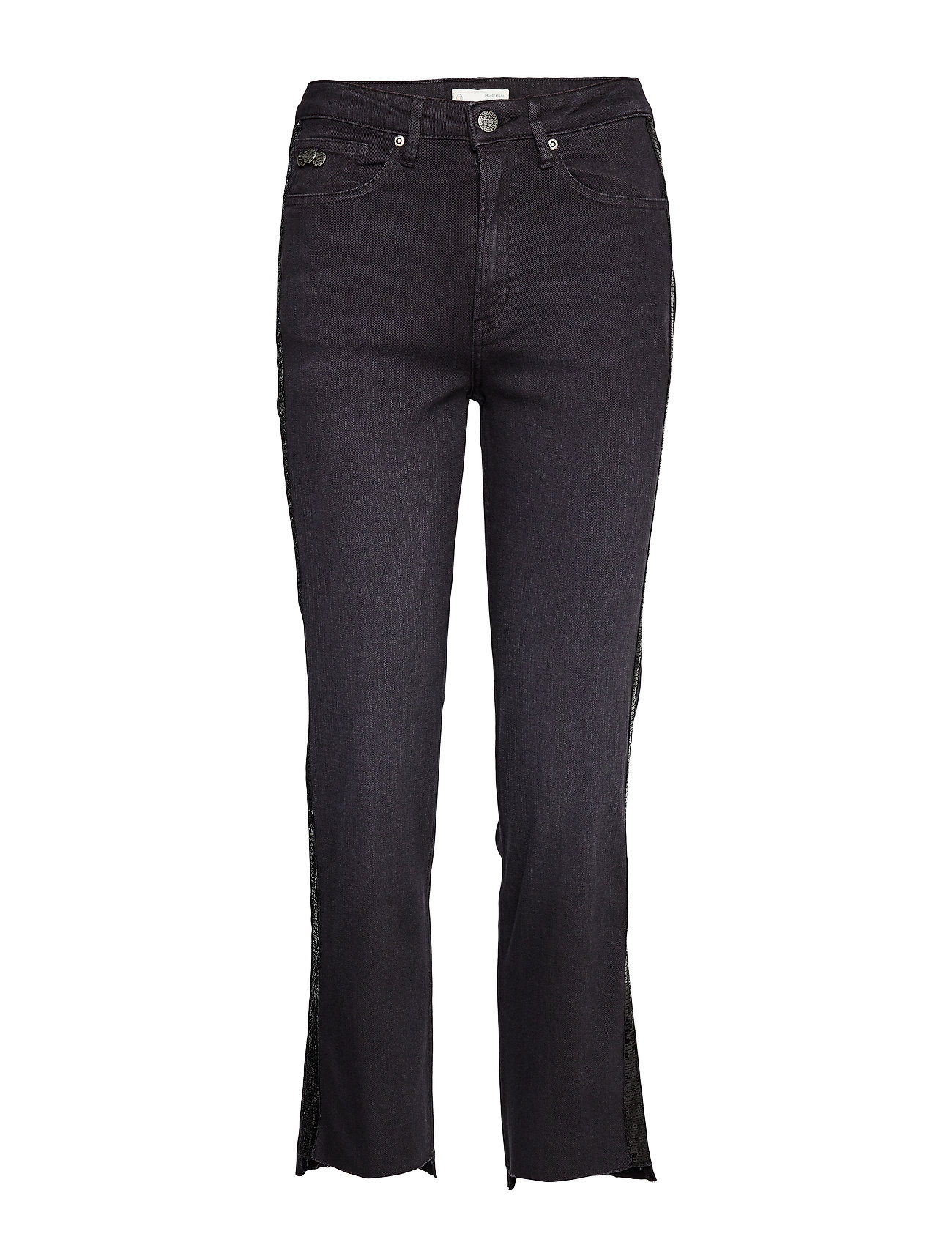 ODD MOLLY Soul On Fire Jeans - ALMOST BLACK