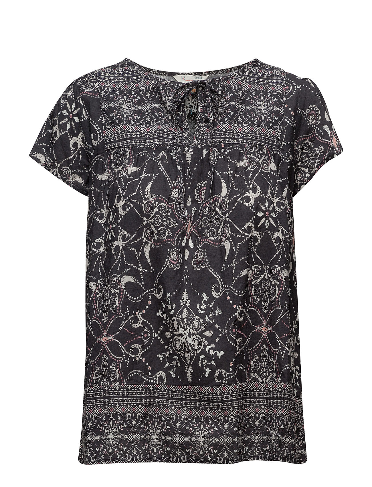 ODD MOLLY backbone blouse - ASPHALT