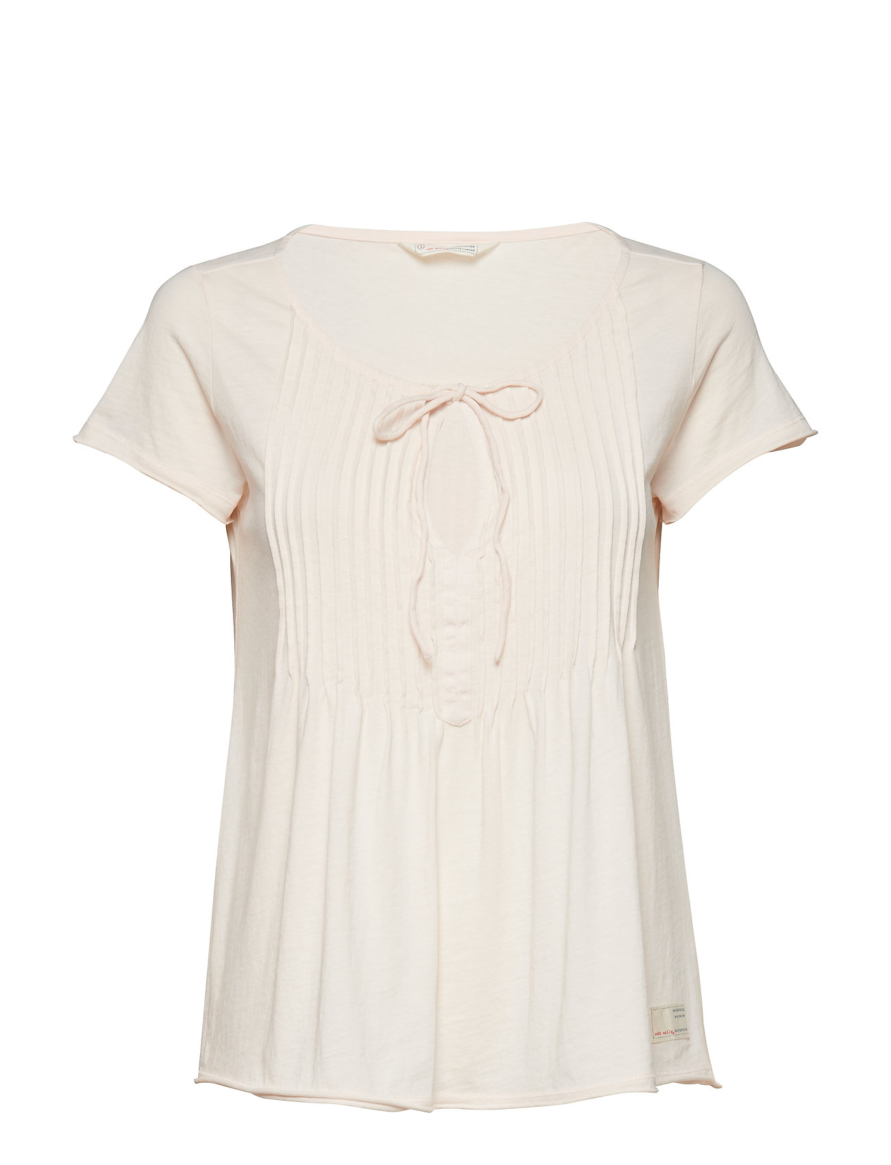 ODD MOLLY jersey girl s/s top - SOFT ROSE