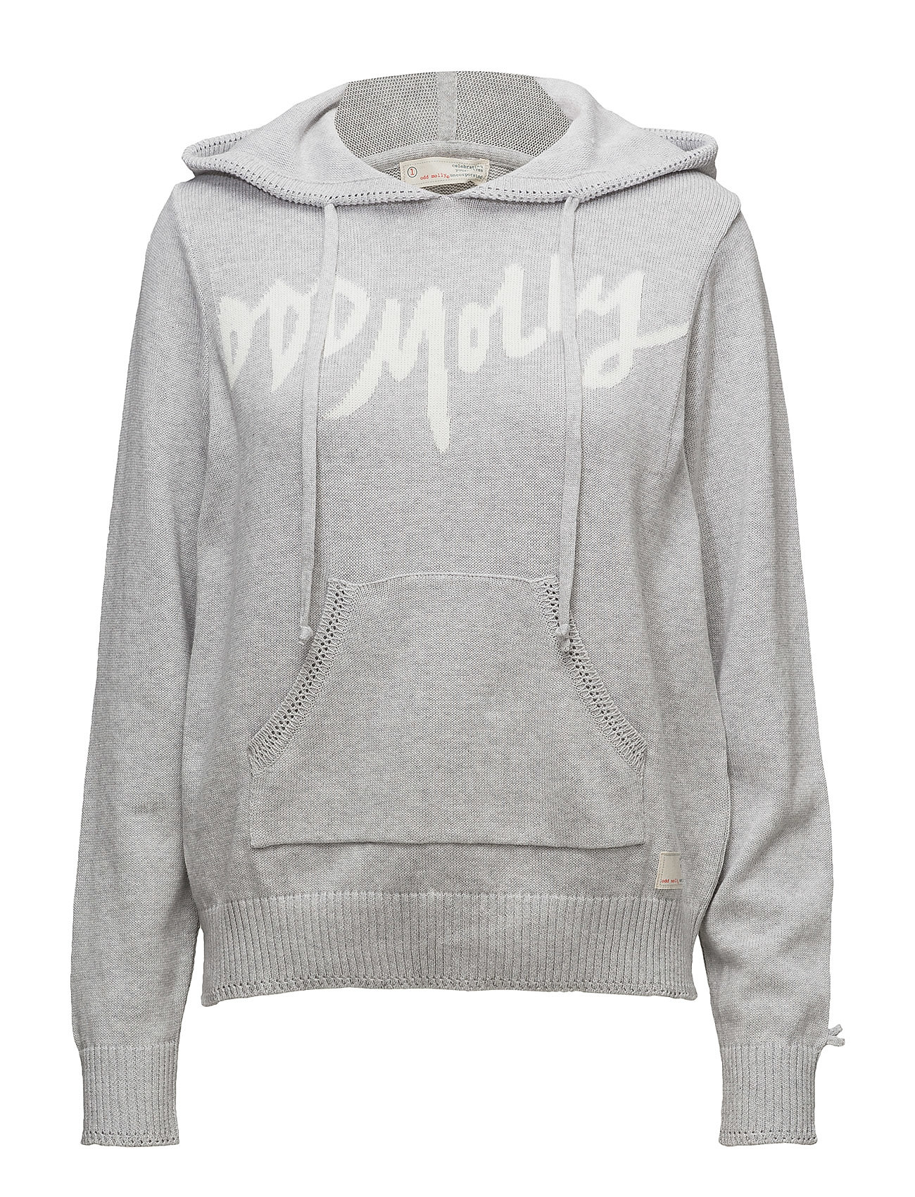 29028ea7a8f8 Hey Baby Hood Sweater (Grey Melange) (79.50 €) - ODD MOLLY -
