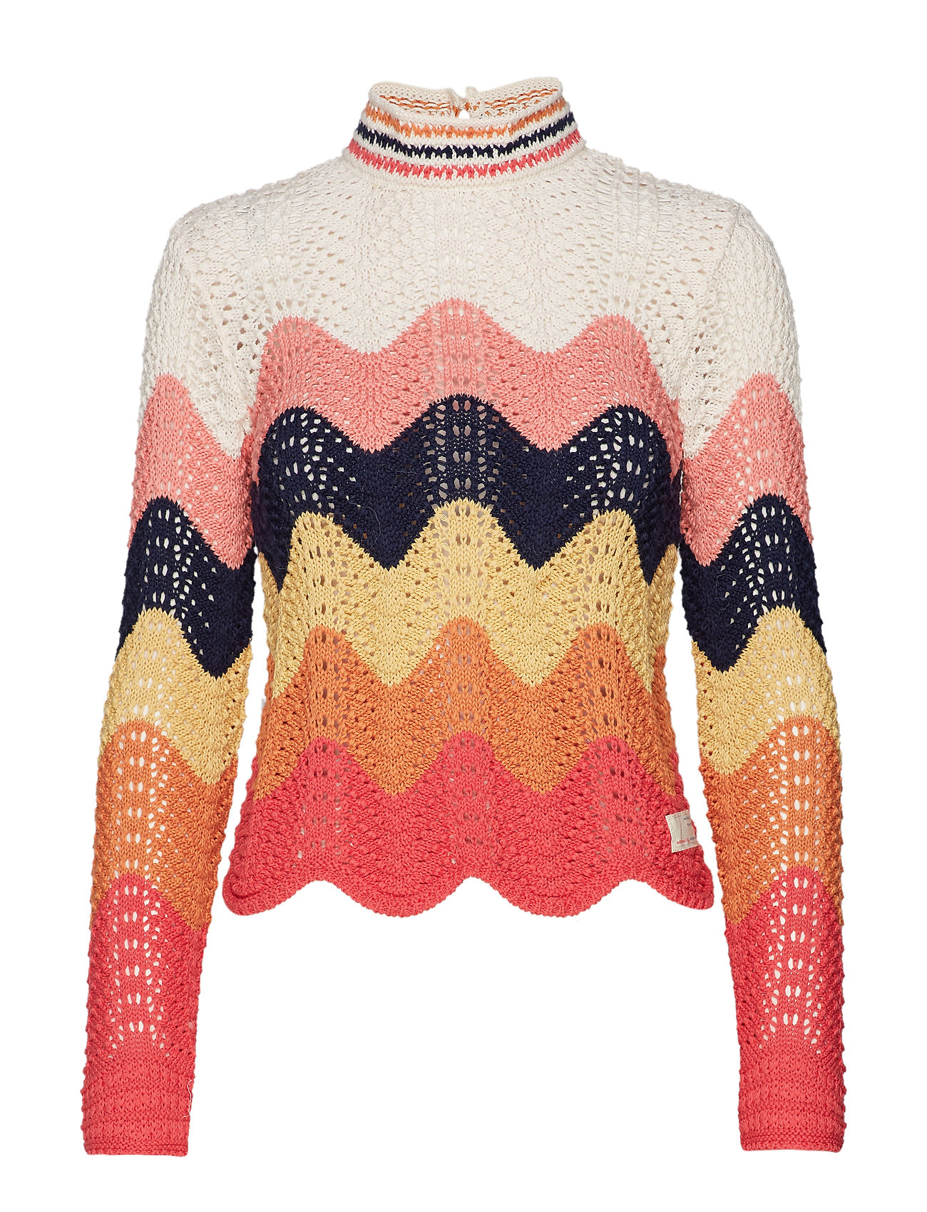 ODD MOLLY soul stripes sweater - MULTI