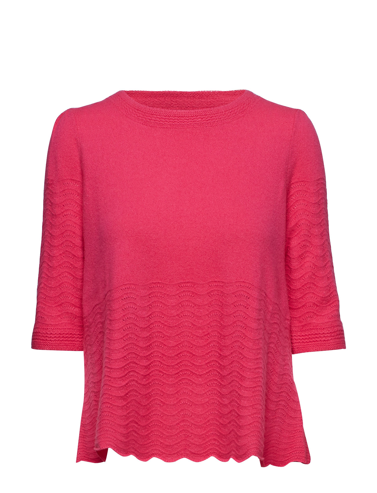 ODD MOLLY soft pursuit sweater - HOT PINK