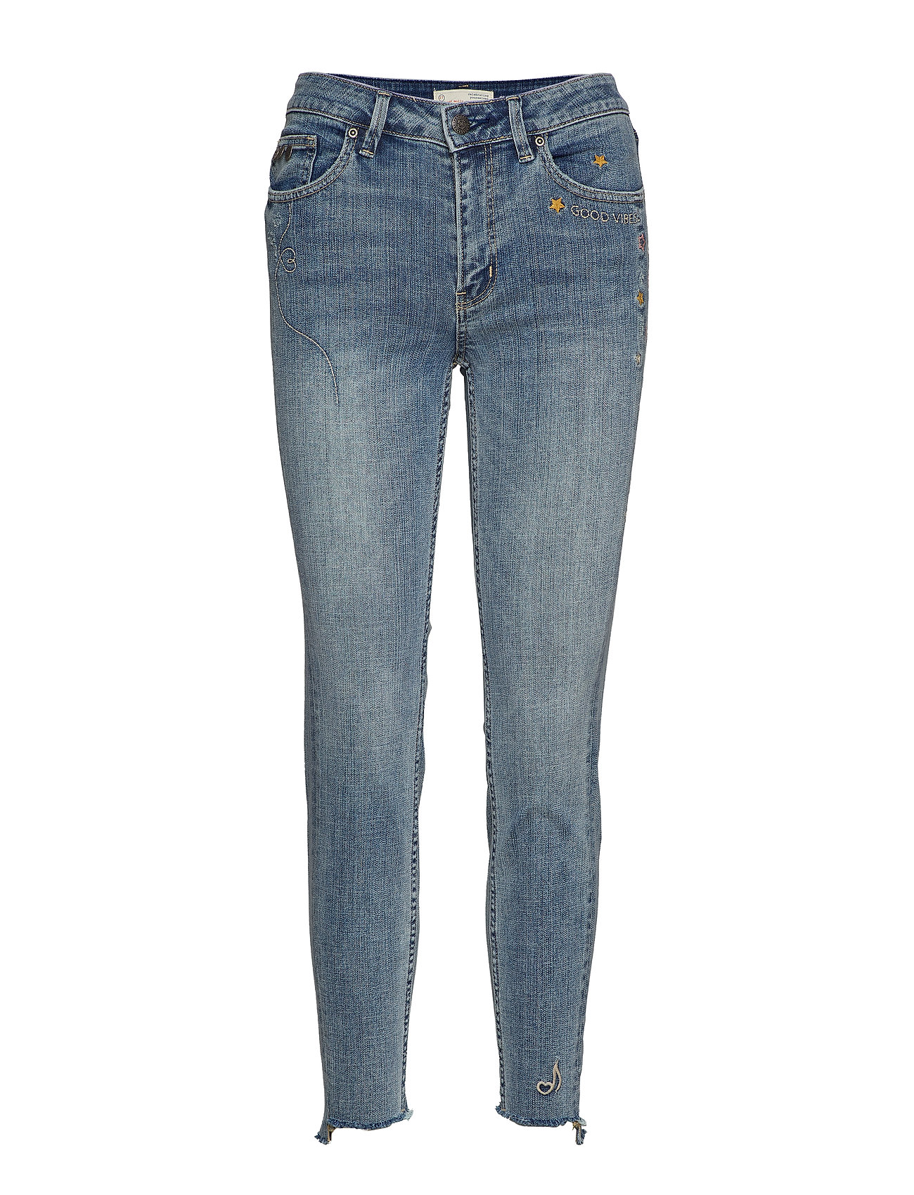 Image of Groupie Cropped Jean Skinny Jeans Blå ODD MOLLY (3119080725)