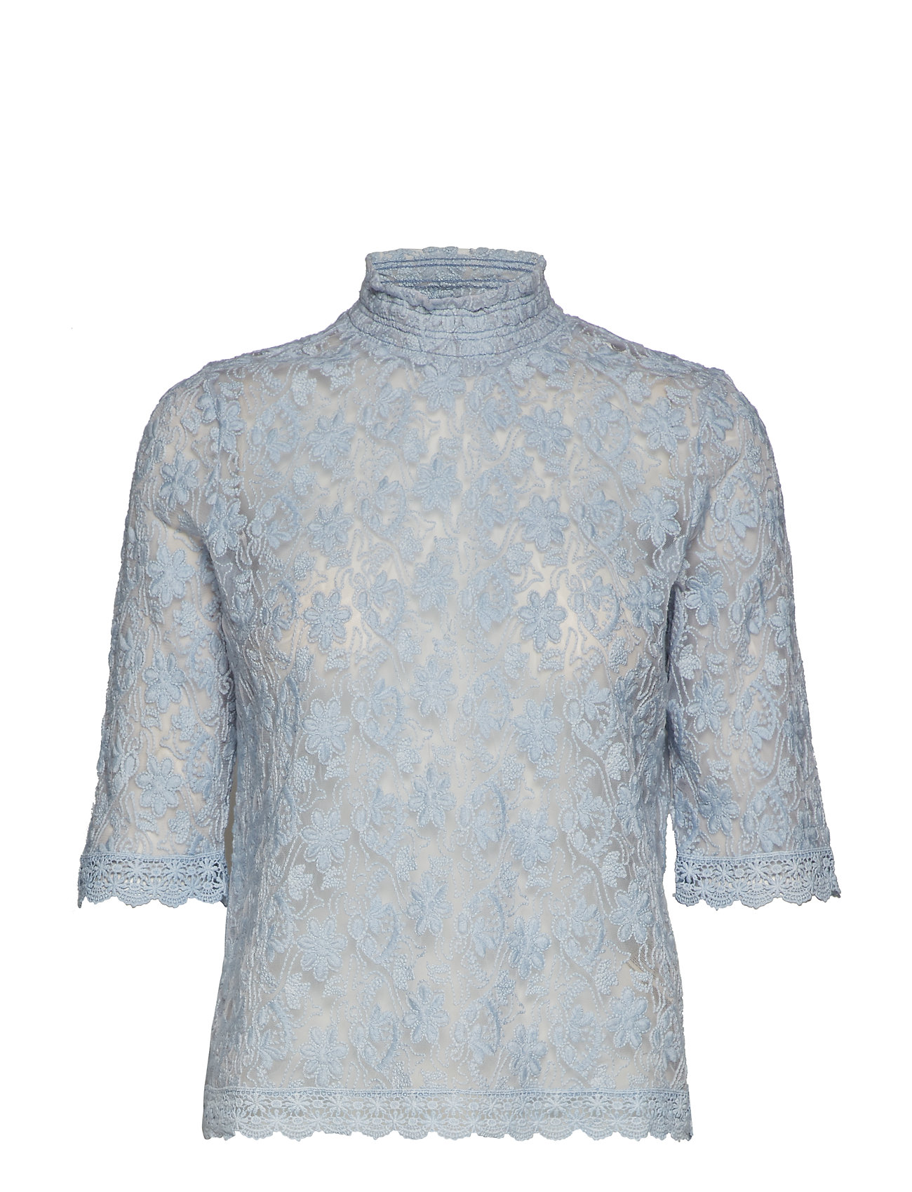 ODD MOLLY sway high blouse - BLOUSE BLUE