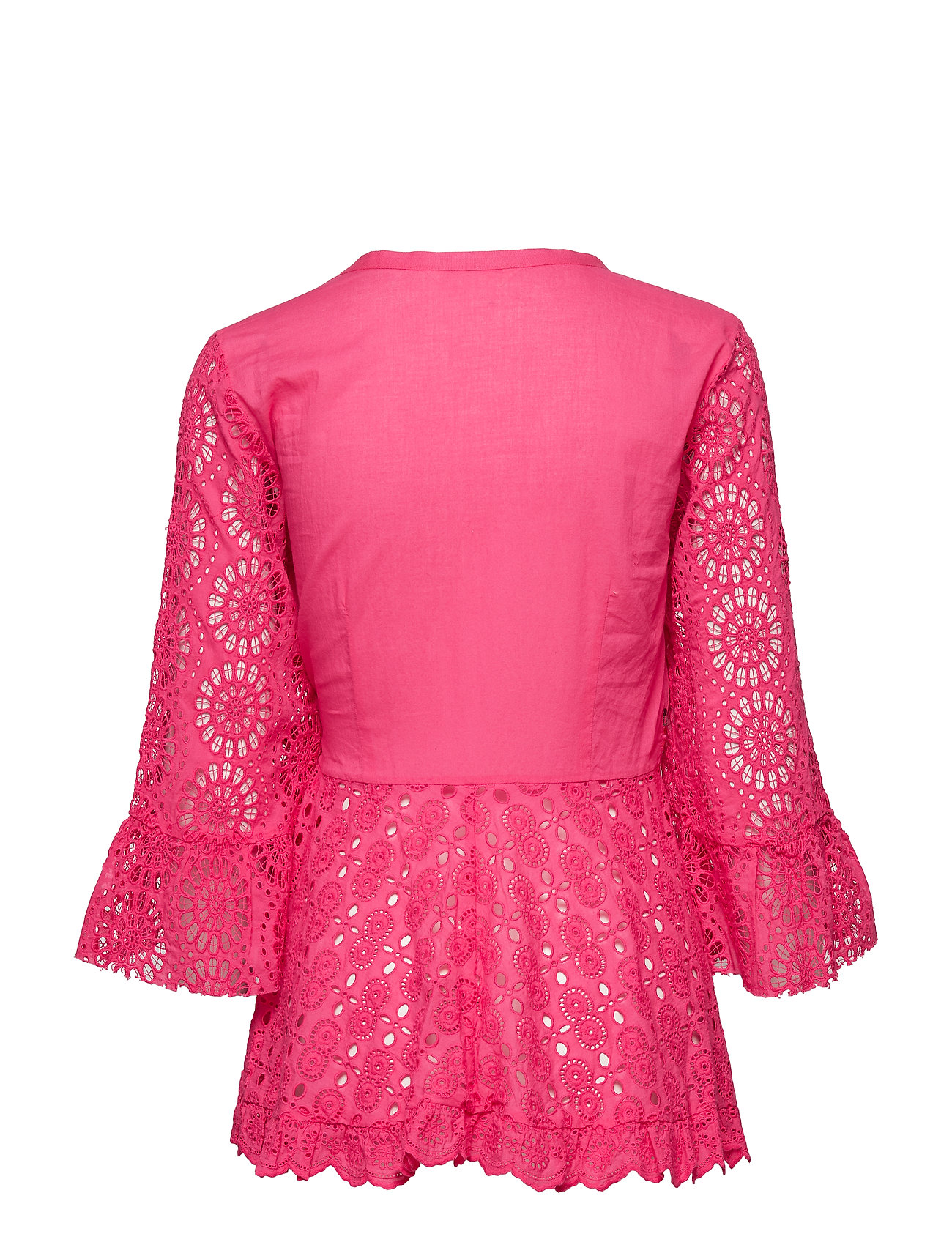 ODD MOLLY    two-step flow blouse  - Blusen & Hemden    HOT PINK