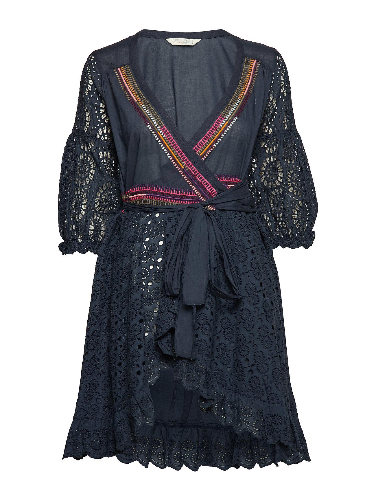 ODD MOLLY two-step flow dress - DARK BLUE