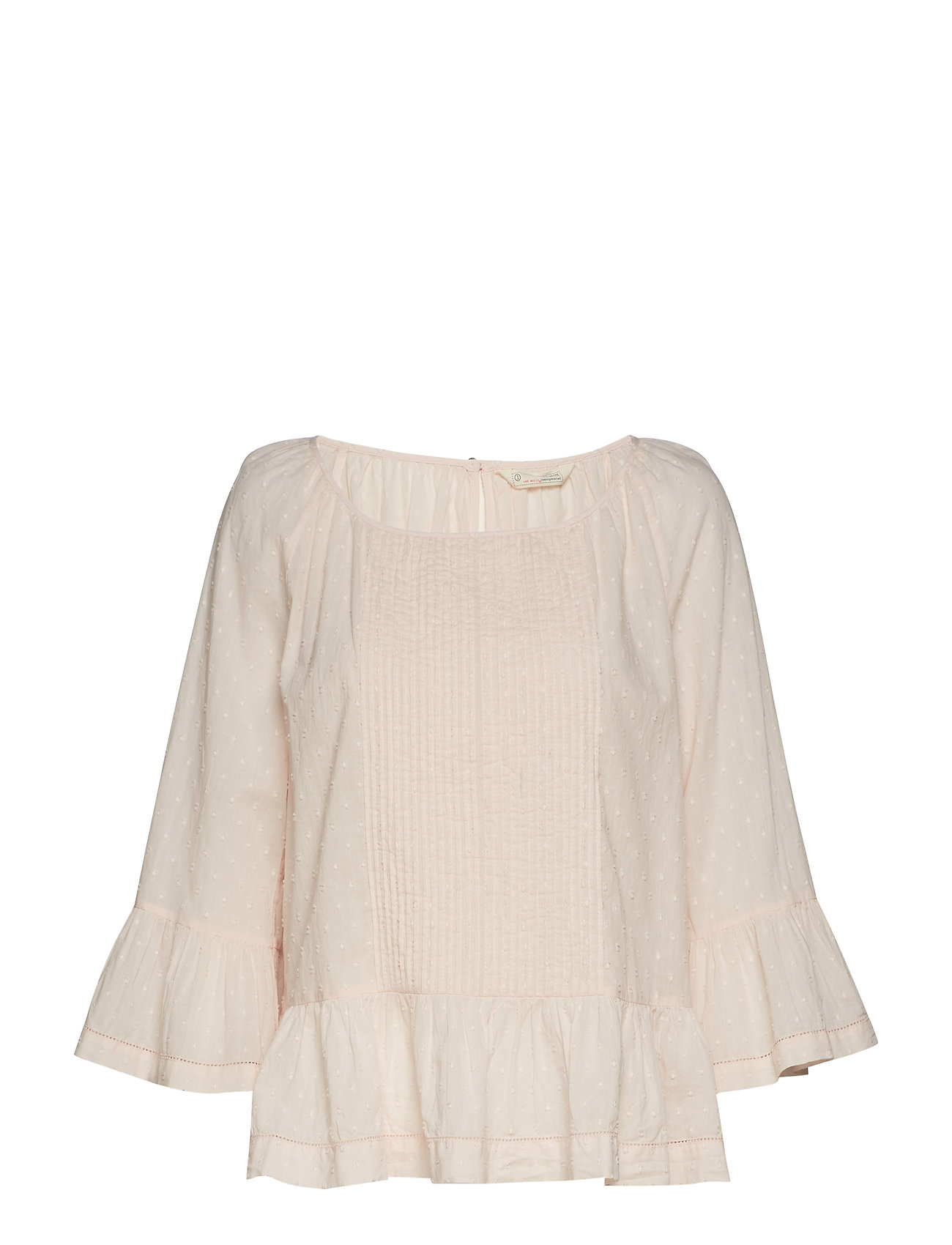 ODD MOLLY wavelenghts blouse - SOFT ROSE