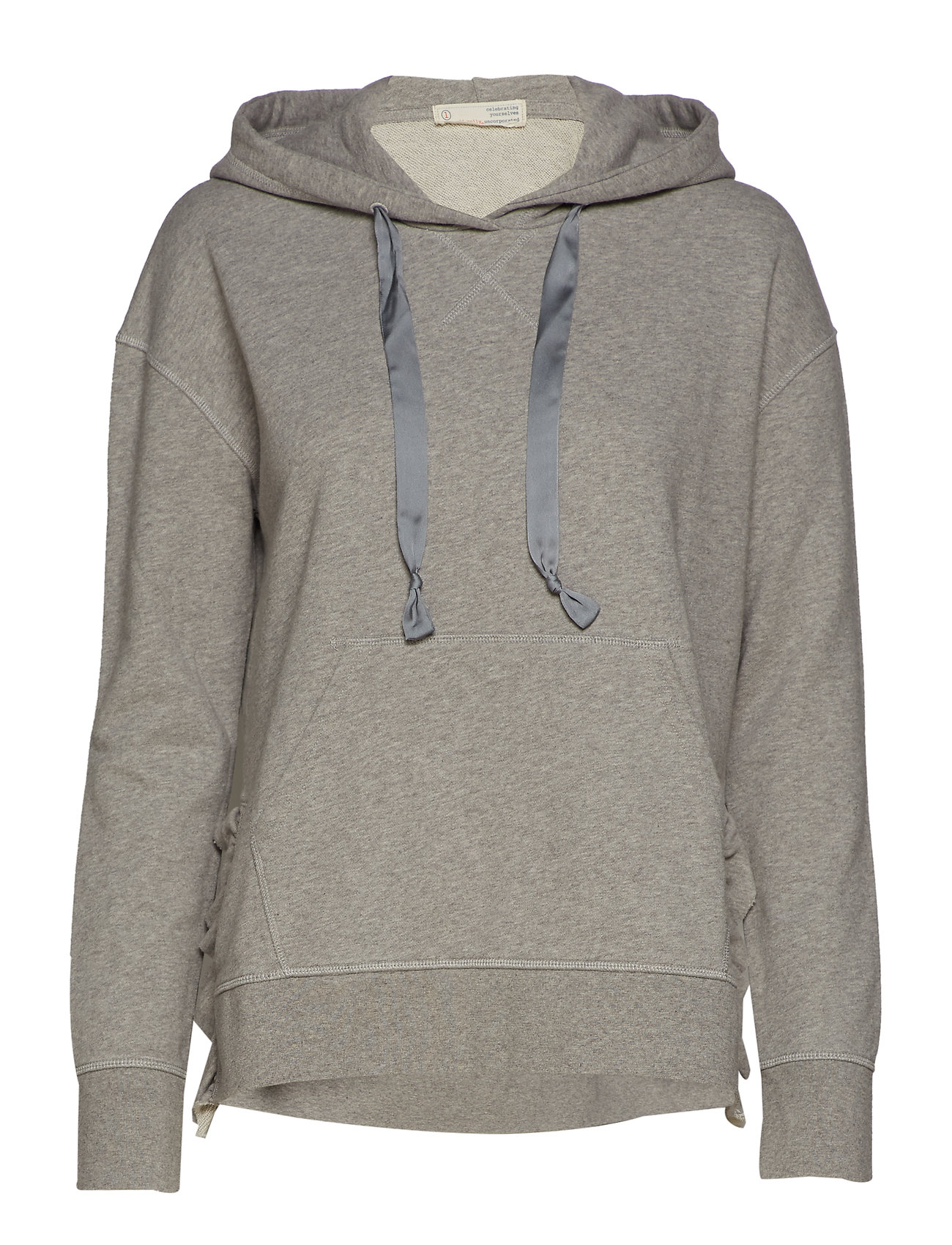 ODD MOLLY soft tracks sweater - LIGHT GREY MELANGE