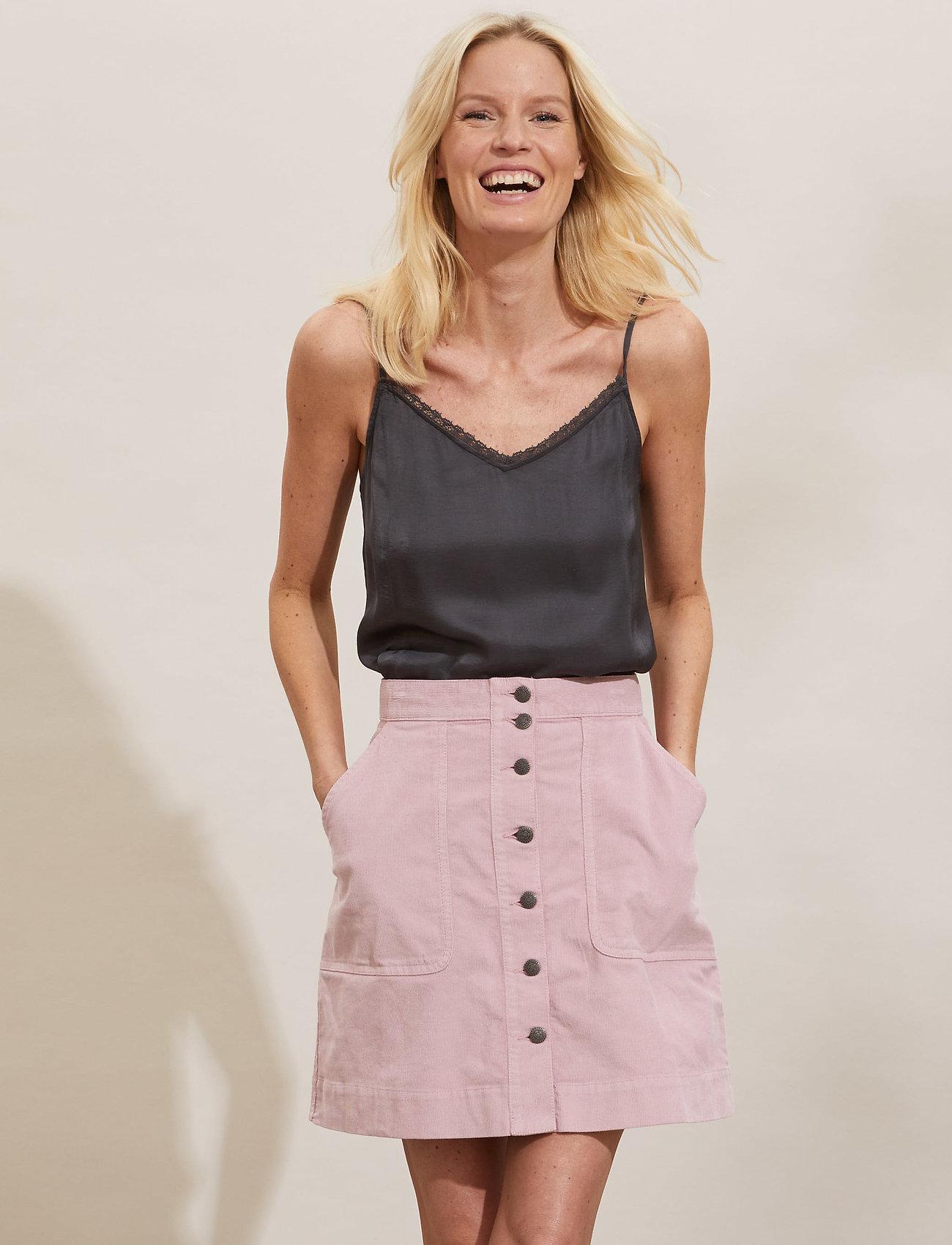 ODD MOLLY - Holly Skirt - korte nederdele - pink mauve - 0