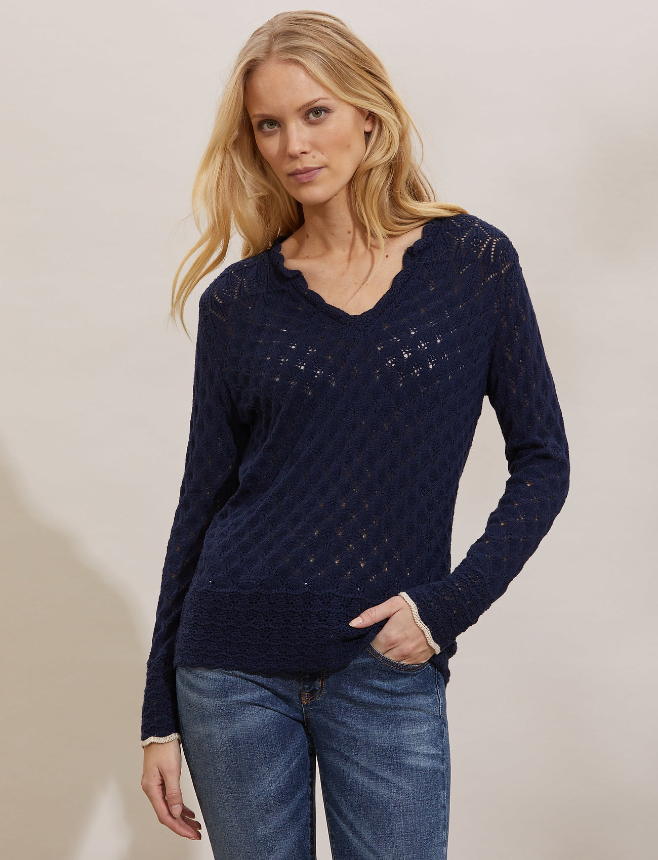 ODD MOLLY - Meryl Sweater - trøjer - dark blue - 0