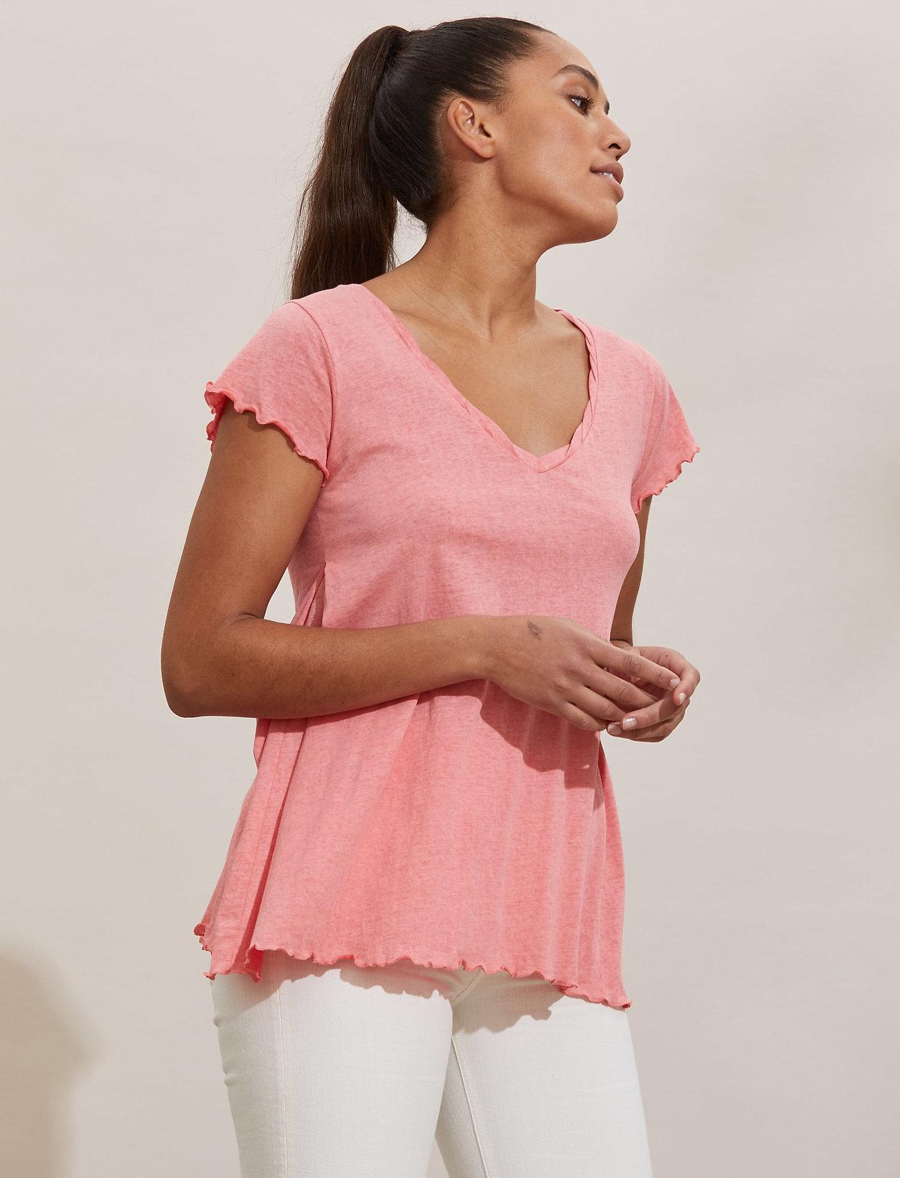ODD MOLLY - Carole Top - t-shirts - pink dream - 0