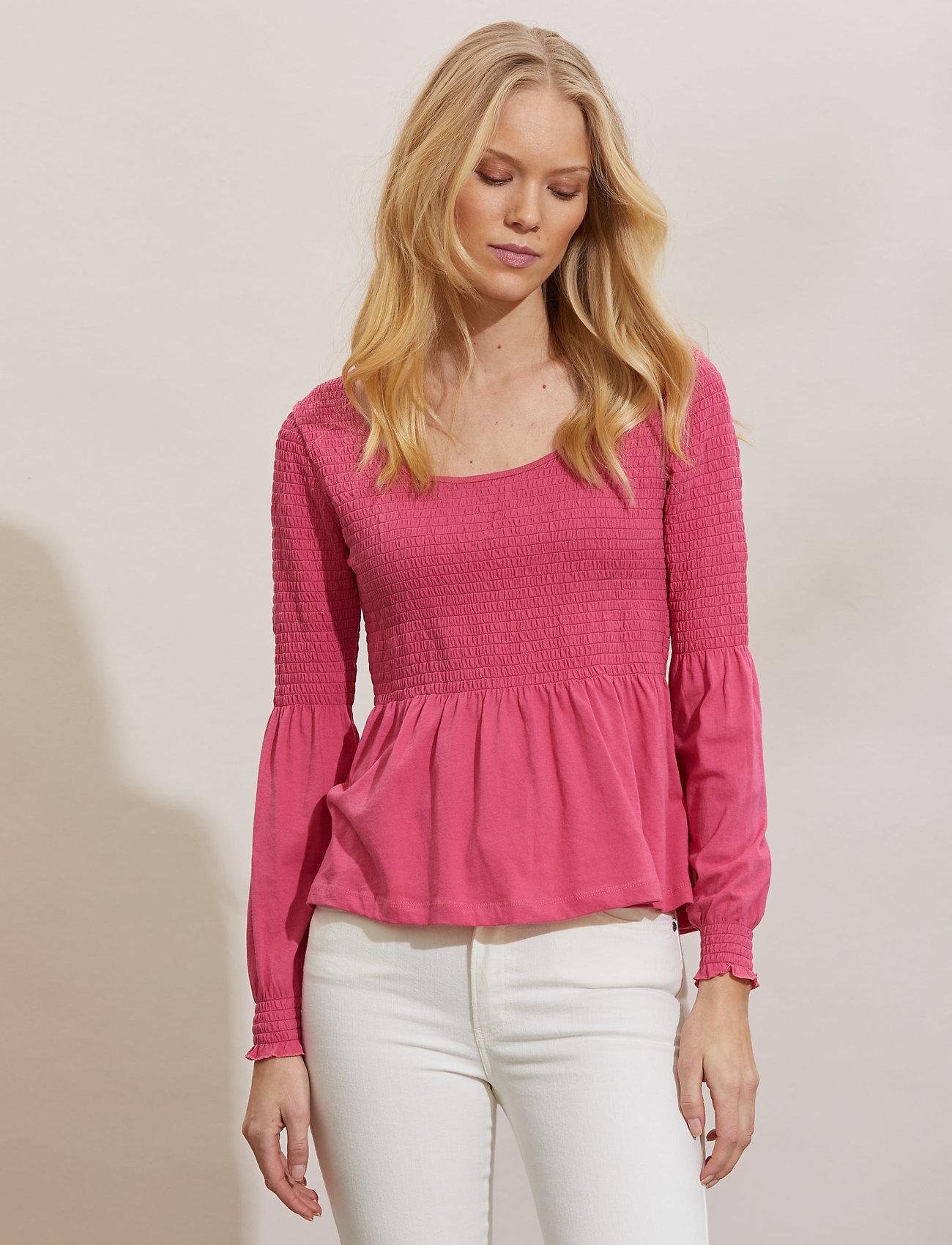 ODD MOLLY - Valerie Top - langærmede bluser - pink fudge - 0