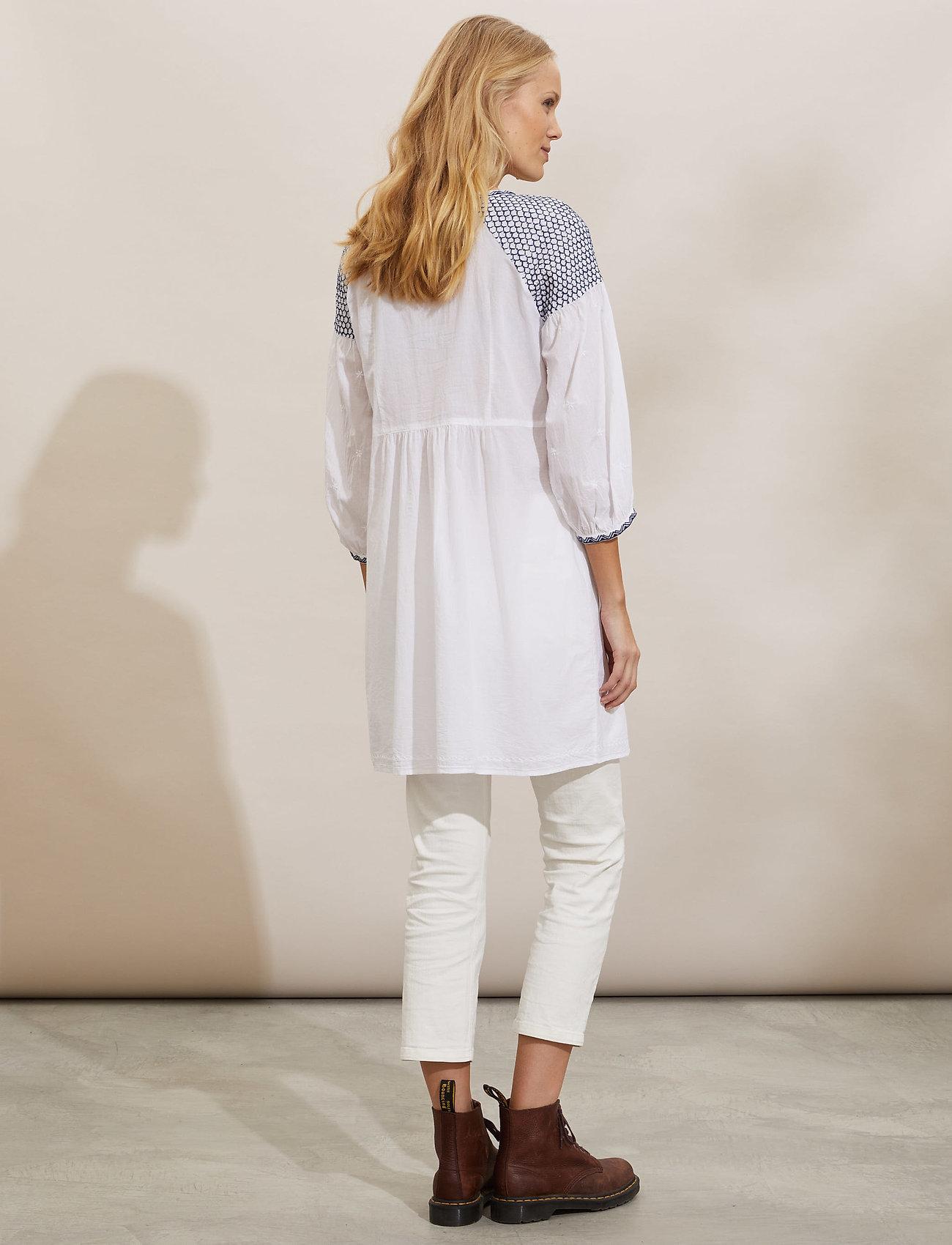 ODD MOLLY - Jill Dress - midi dresses - bright white - 3