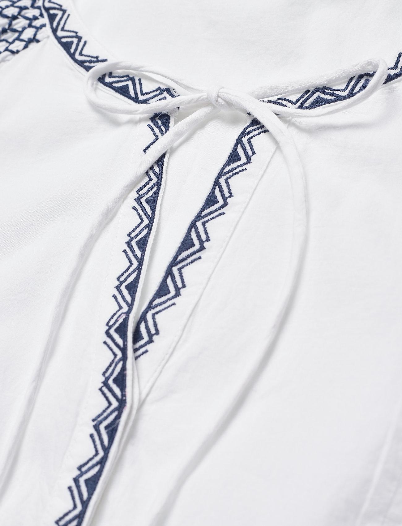 ODD MOLLY - Jill Dress - midi dresses - bright white - 4