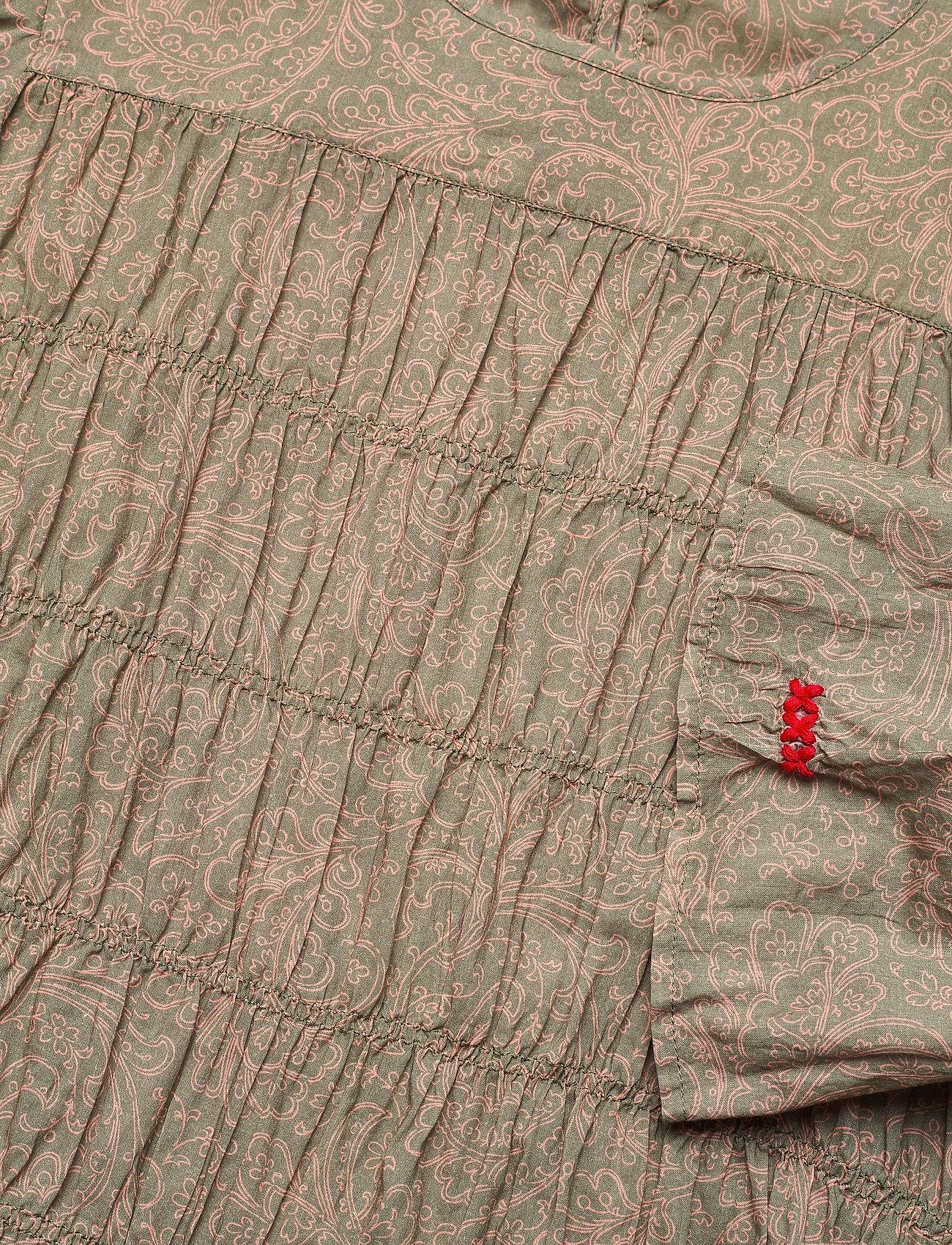 ODD MOLLY - Judy Blouse - langærmede bluser - faded cargo - 4