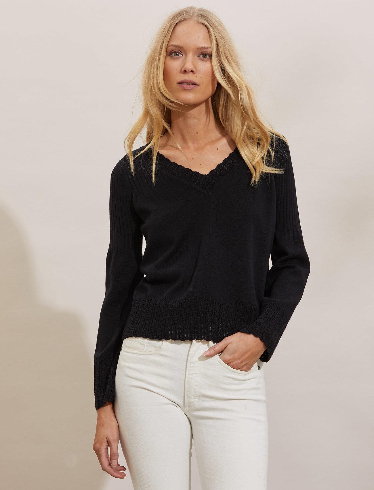 ODD MOLLY - Joni Sweater - trøjer - black - 0