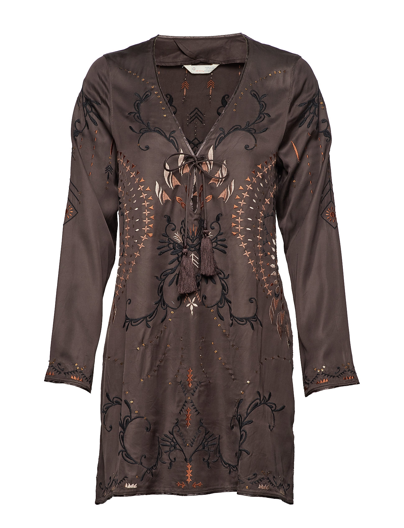 ODD MOLLY dolomite tunic - BLACK LAVA