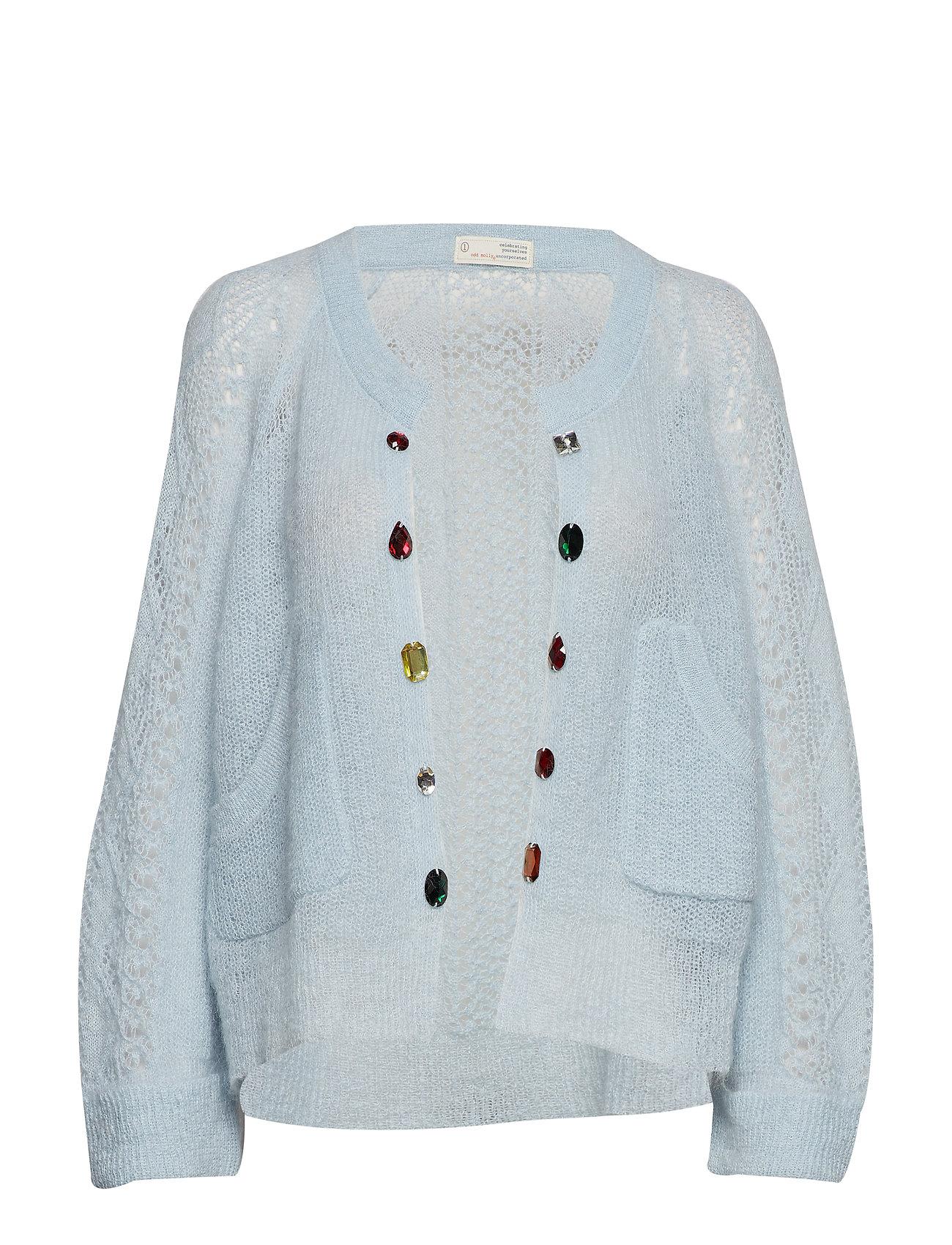 ODD MOLLY choice maker cardigan - AIR BLUE